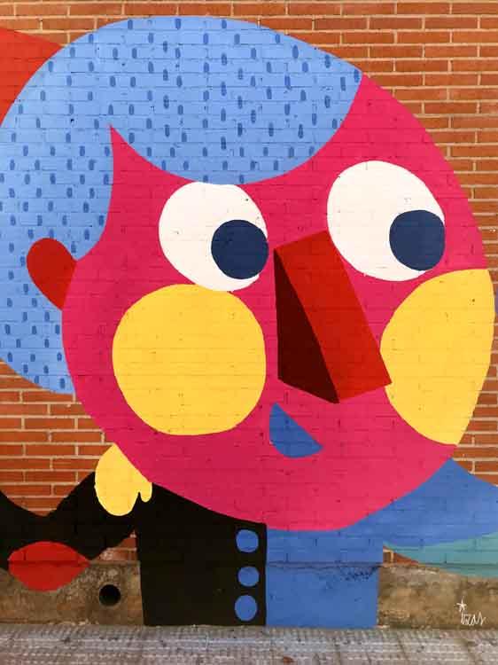 azulpatio izas mural rosa luxemburgo infantil detalle 6