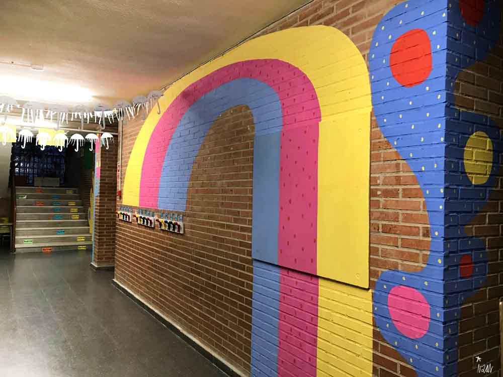 azulpatio izas mural rosa luxemburgo pabellón amarillo piso 1 dcha