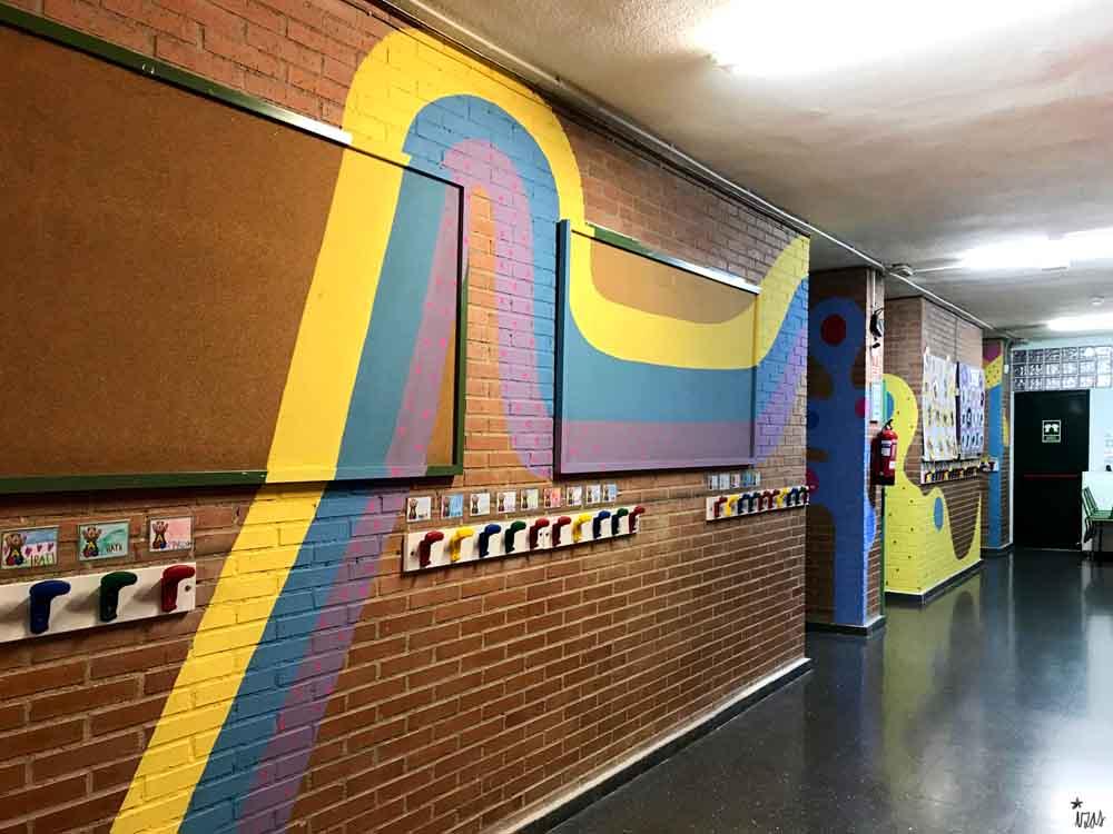 azulpatio izas mural rosa luxemburgo pabellón amarillo piso 2 arcoiris