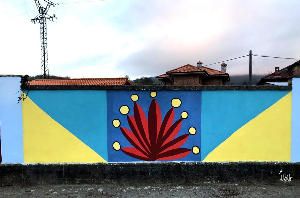 mural izas azulpatio ceip gerardo diego detalle 5