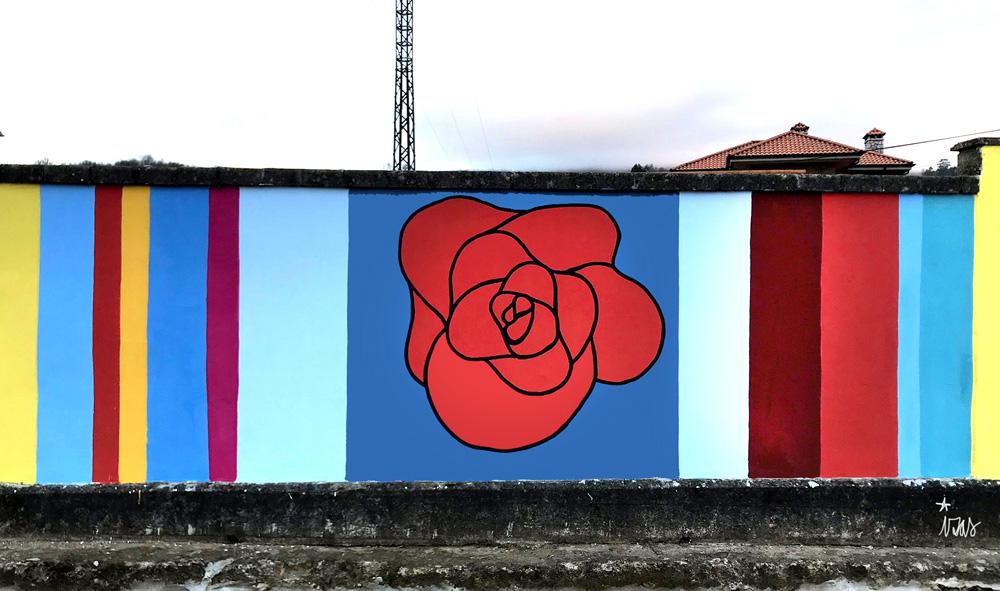 mural izas azulpatio ceip gerardo diego detalle 6
