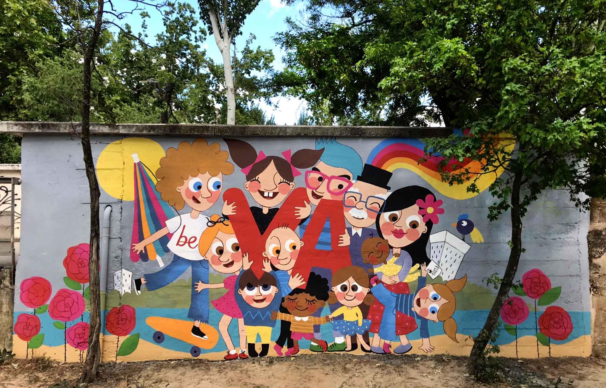 mural izas beVa 10