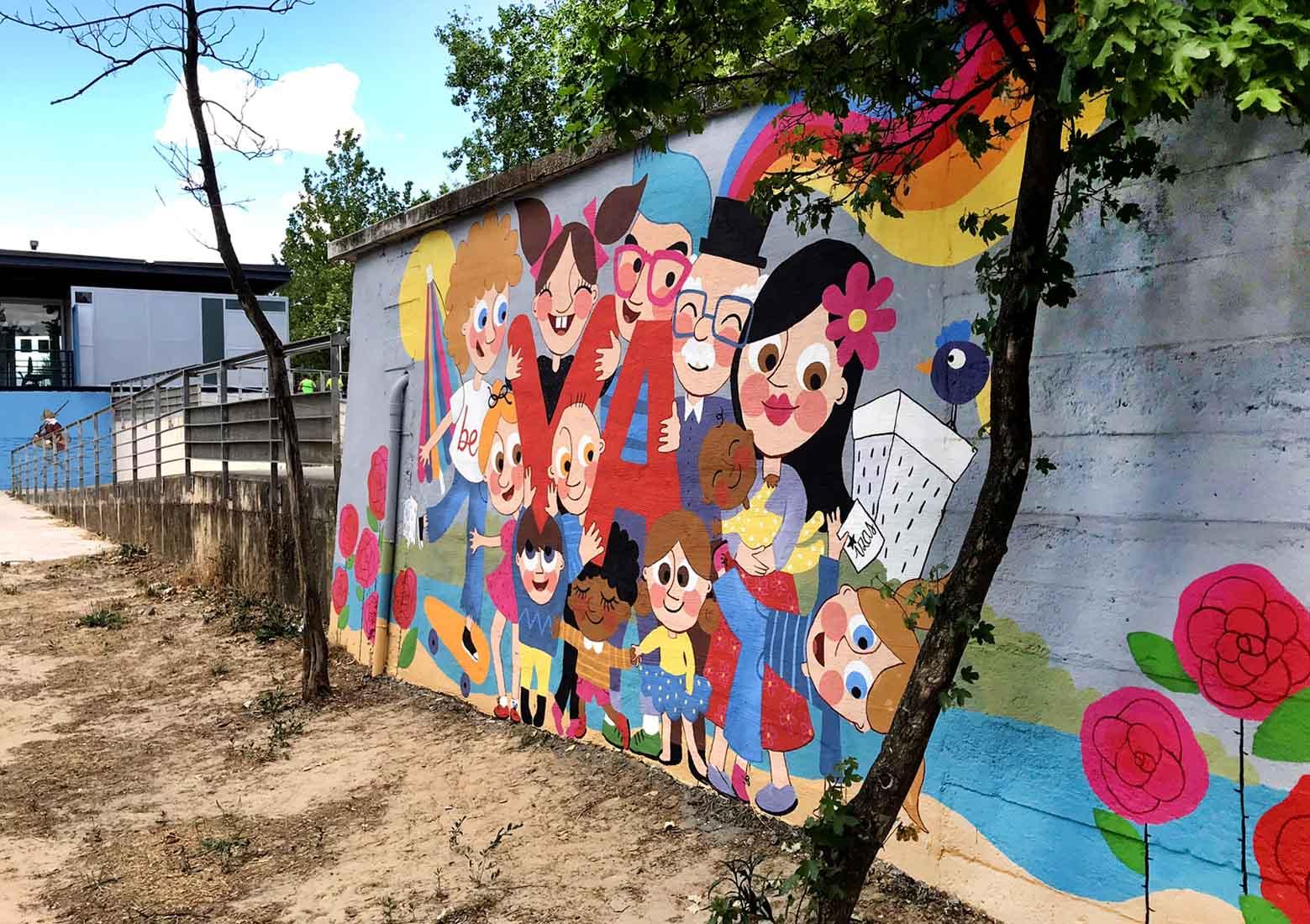 mural izas beVa 11