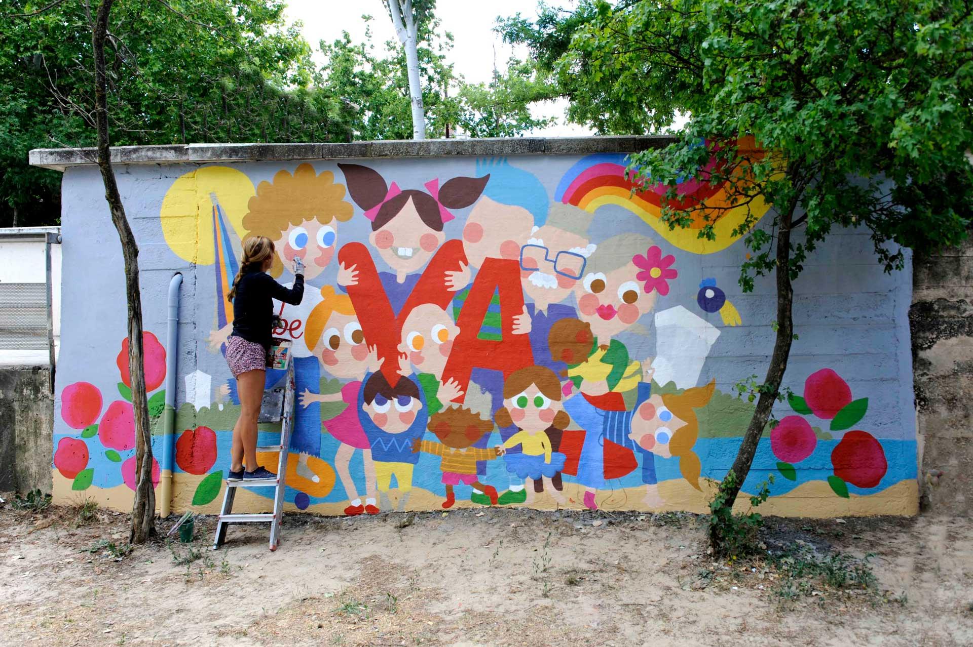 mural izas beVa 12