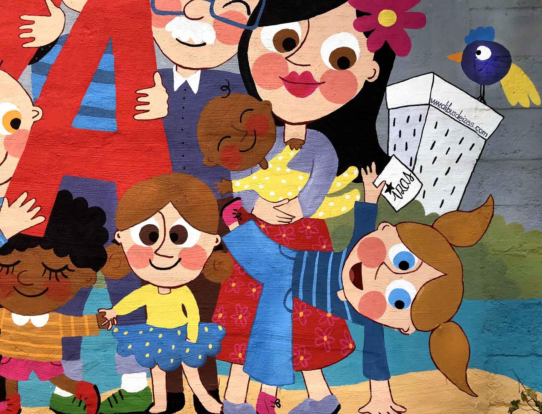 mural izas beVa 4
