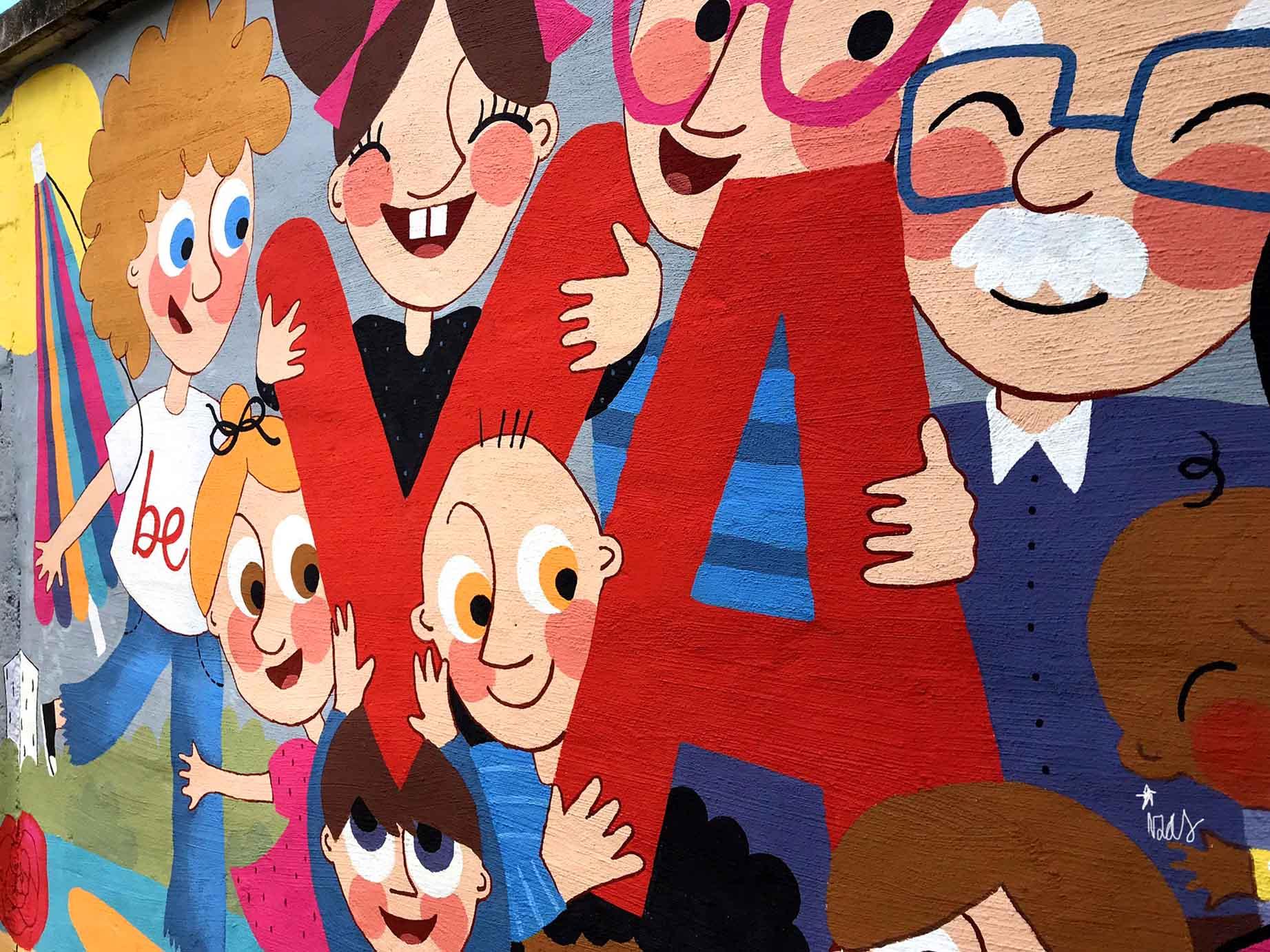 mural izas beVa 5