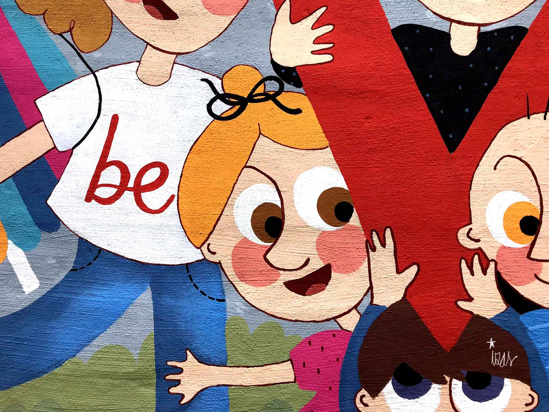 mural izas beVa 7