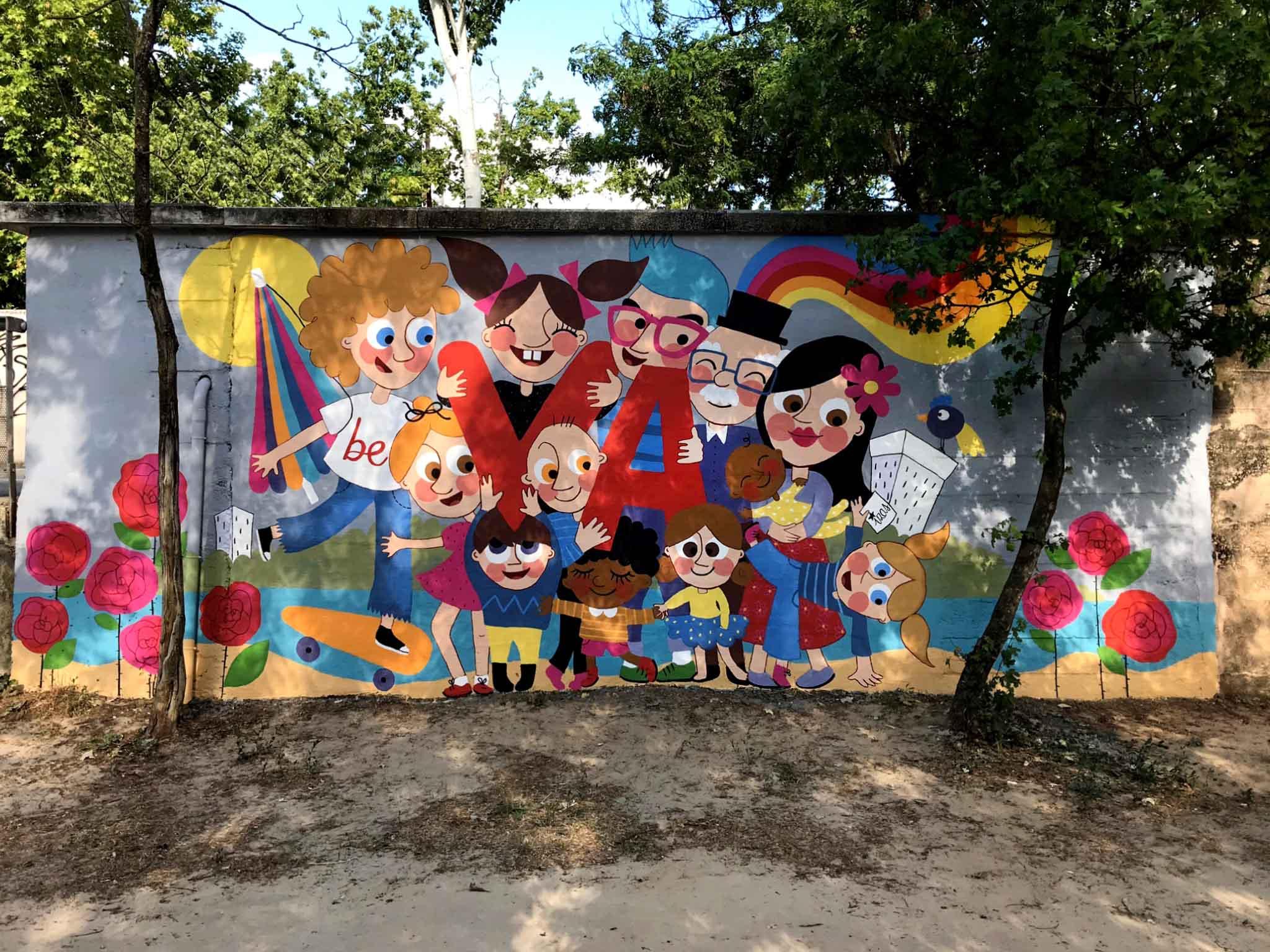 mural izas beVa 9