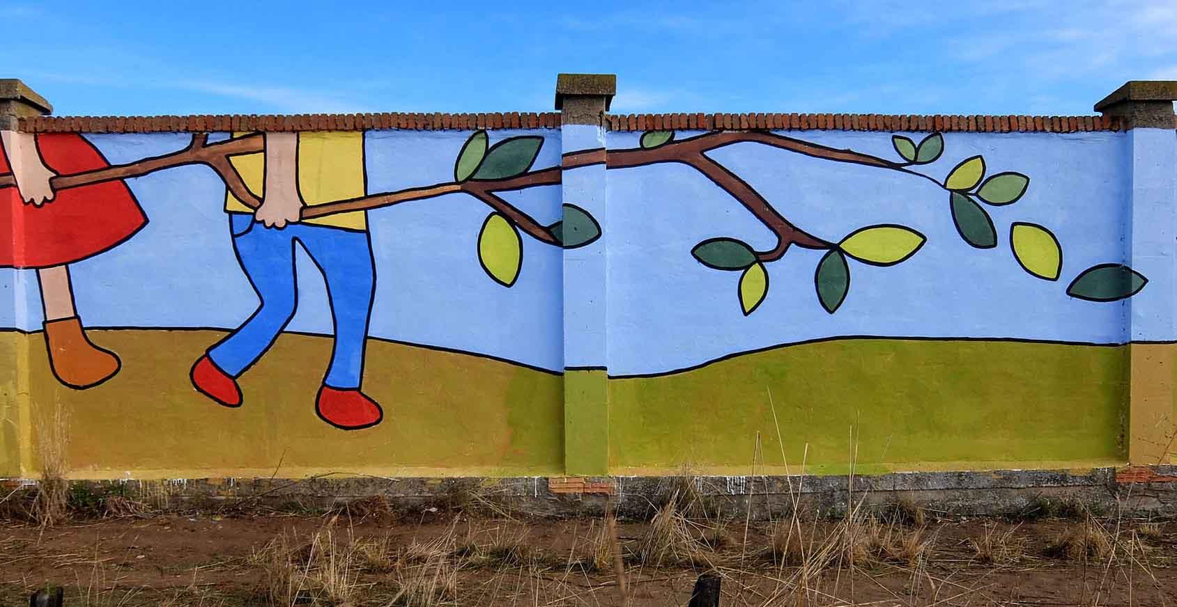 mural izas bosque sueños 11