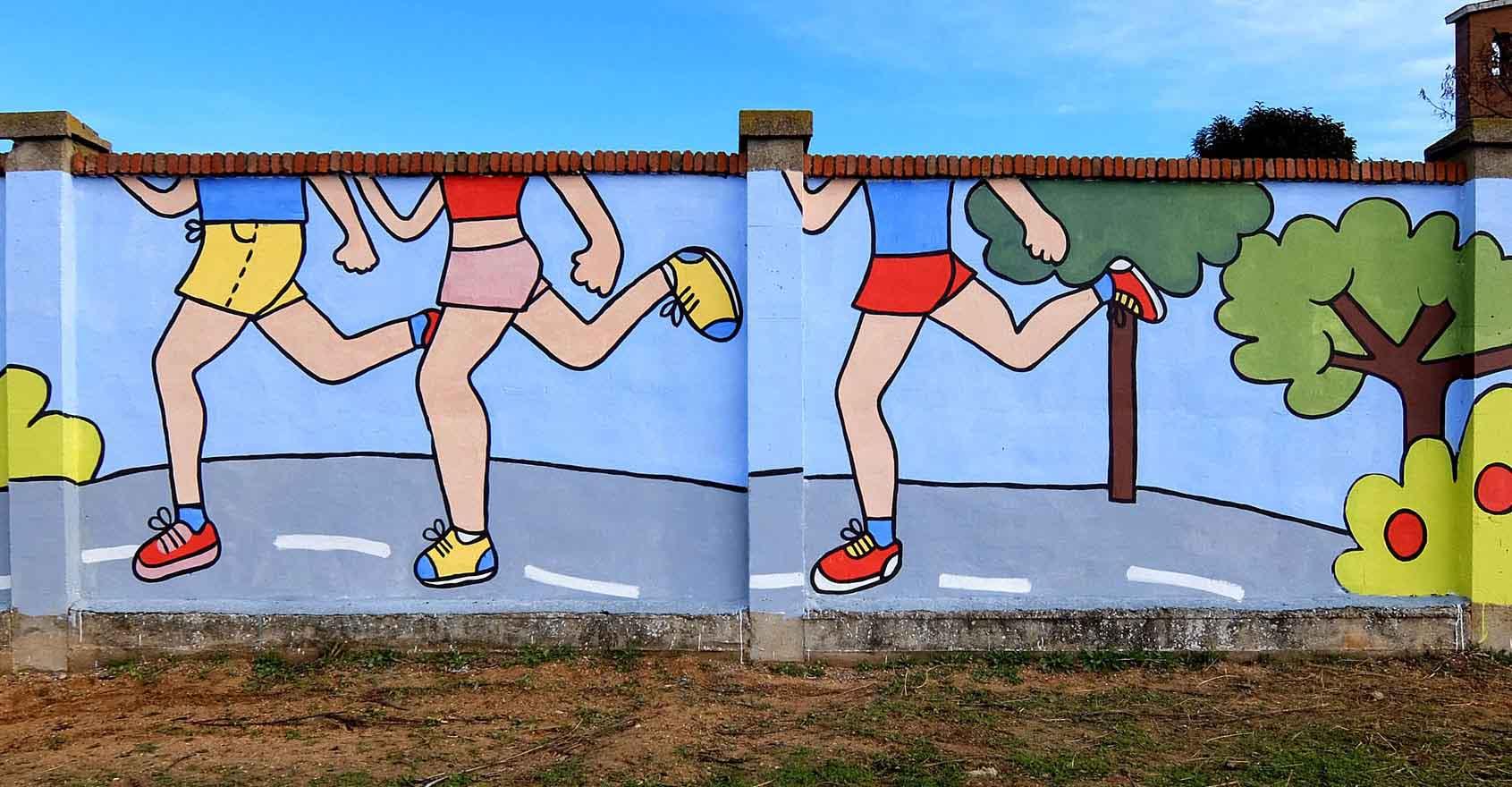 mural izas bosque sueños 14