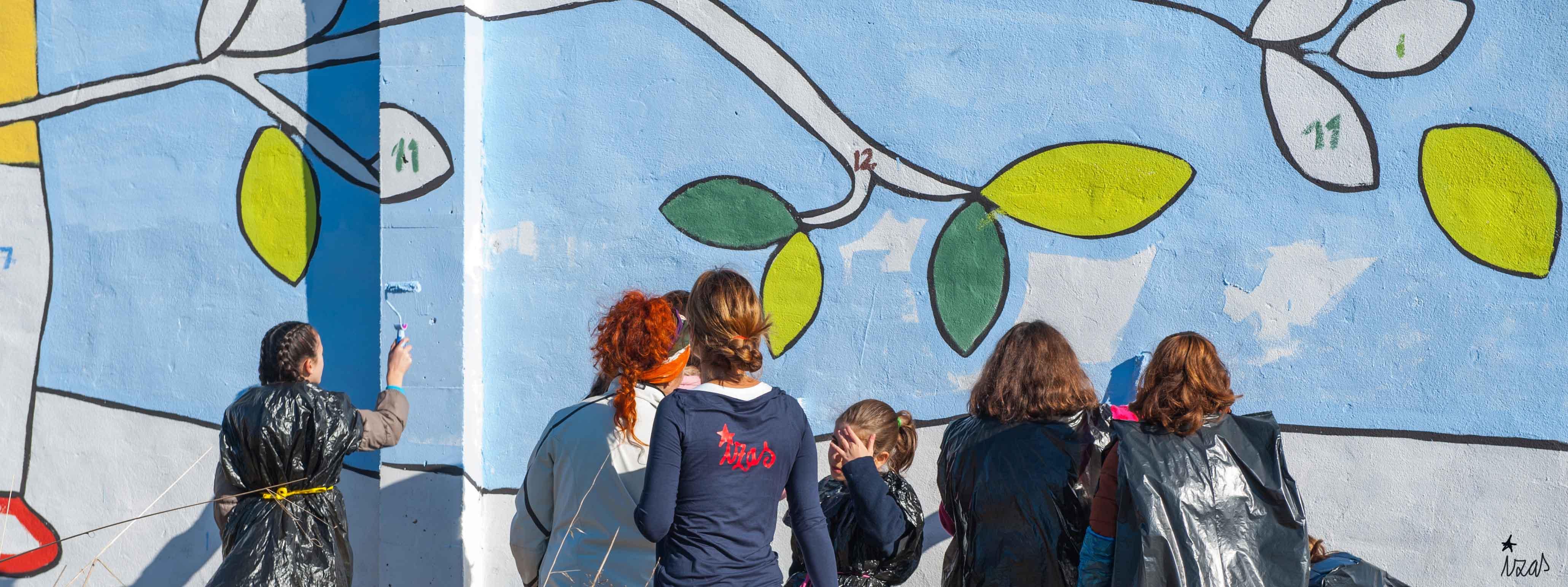 mural izas bosque sueños 16