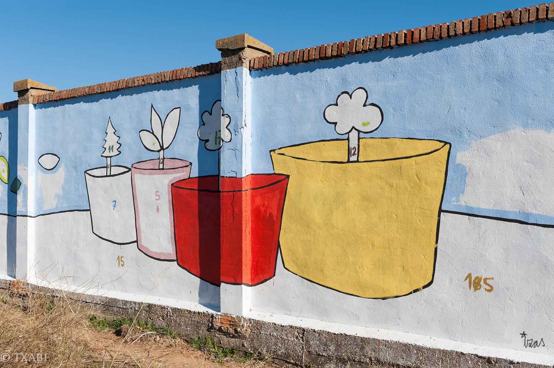 mural izas bosque sueños 2
