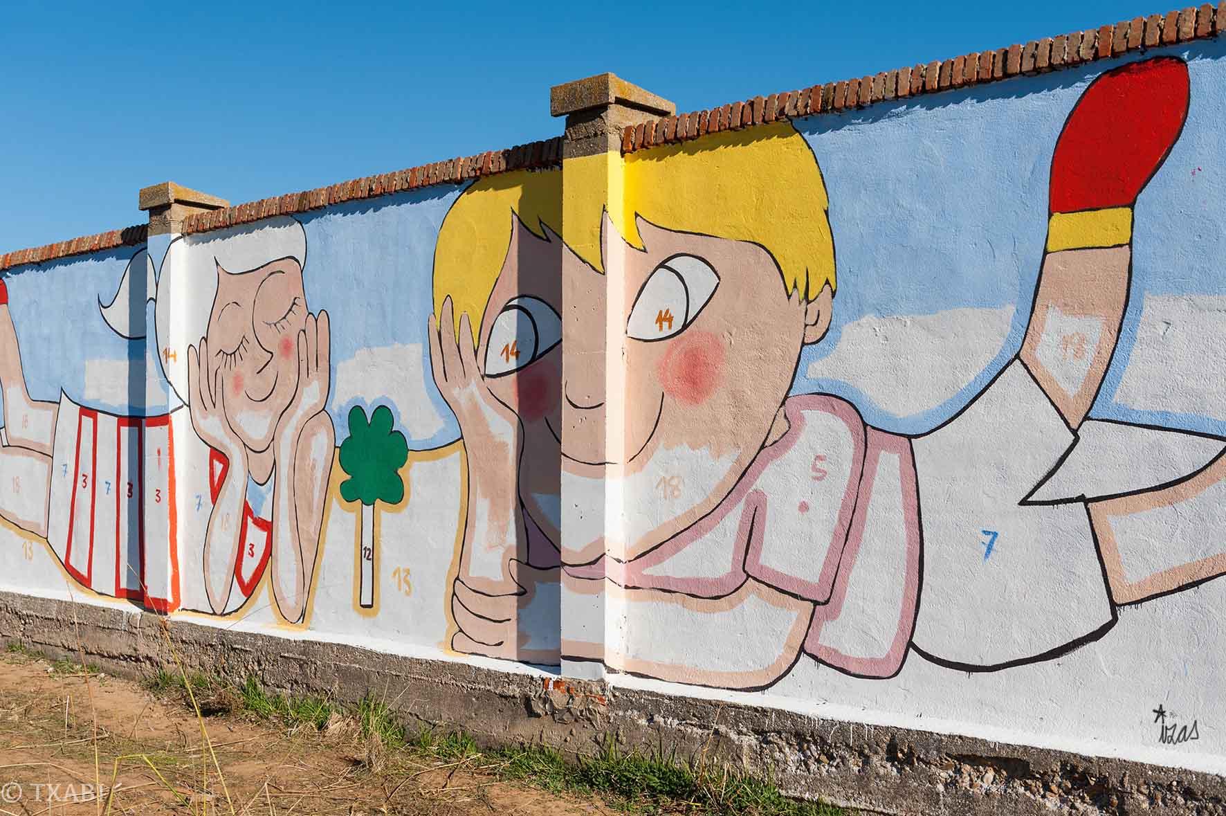 mural izas bosque sueños 4