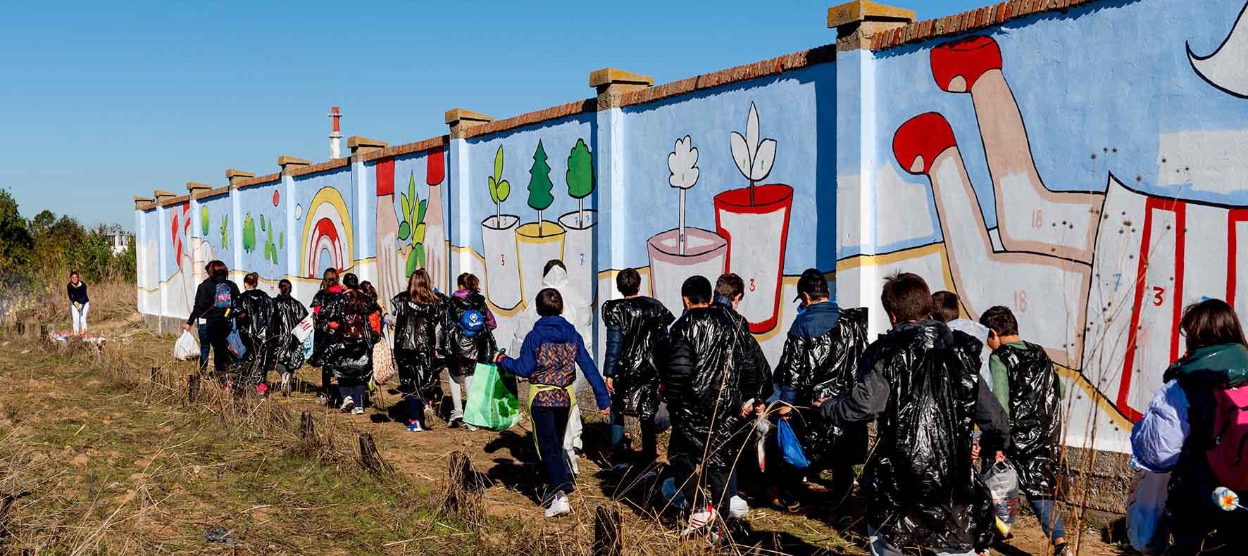 mural izas bosque sueños 6
