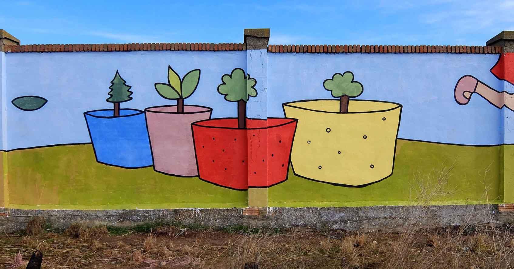 mural izas bosque sueños 9