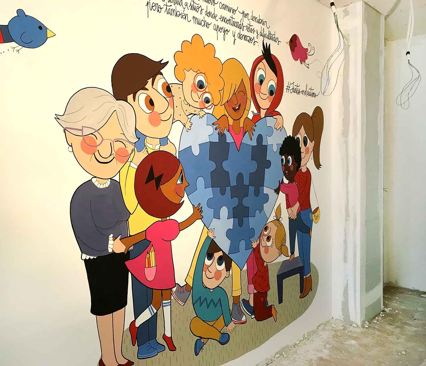 mural izas conecTEA 2