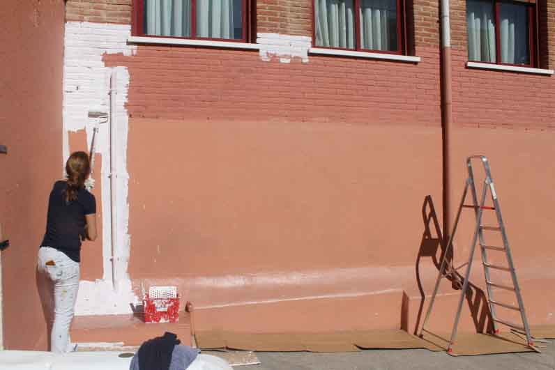 mural izas dibujando la palabra zamora 6