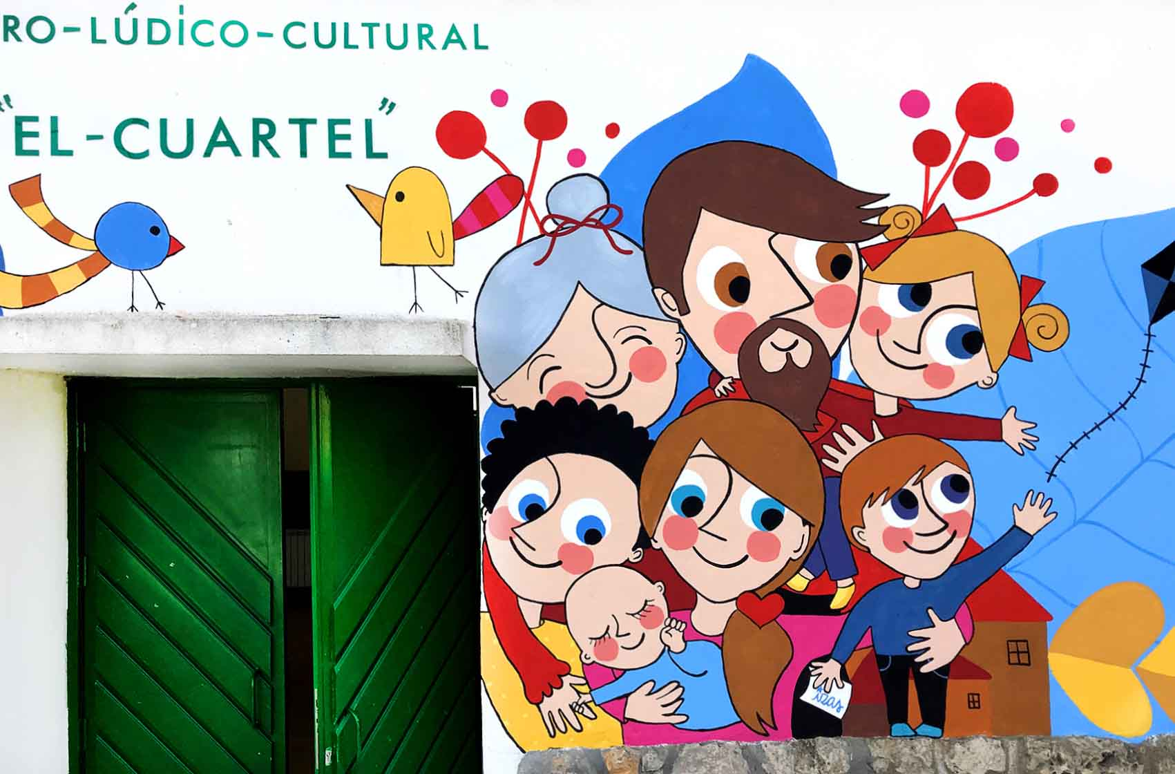 mural izas el cuartel 3
