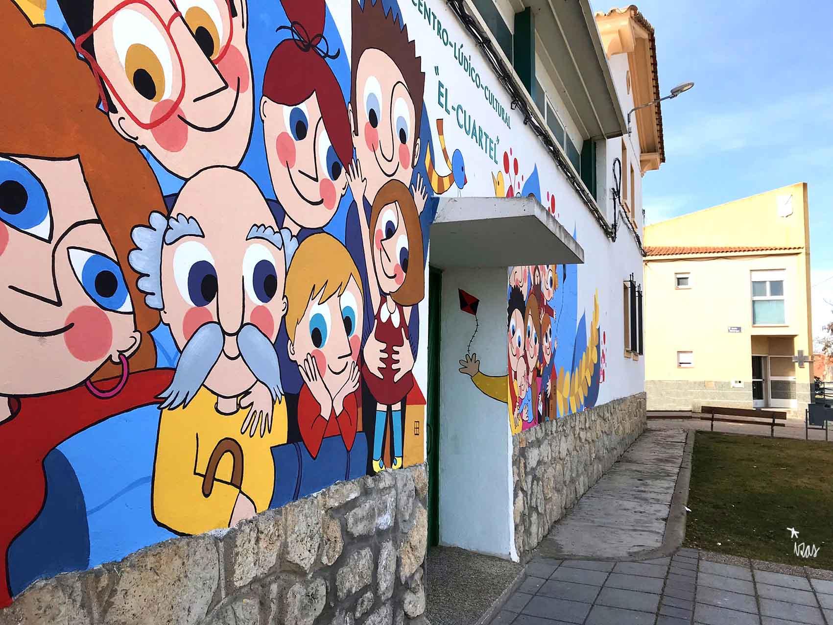 mural izas el cuartel 8