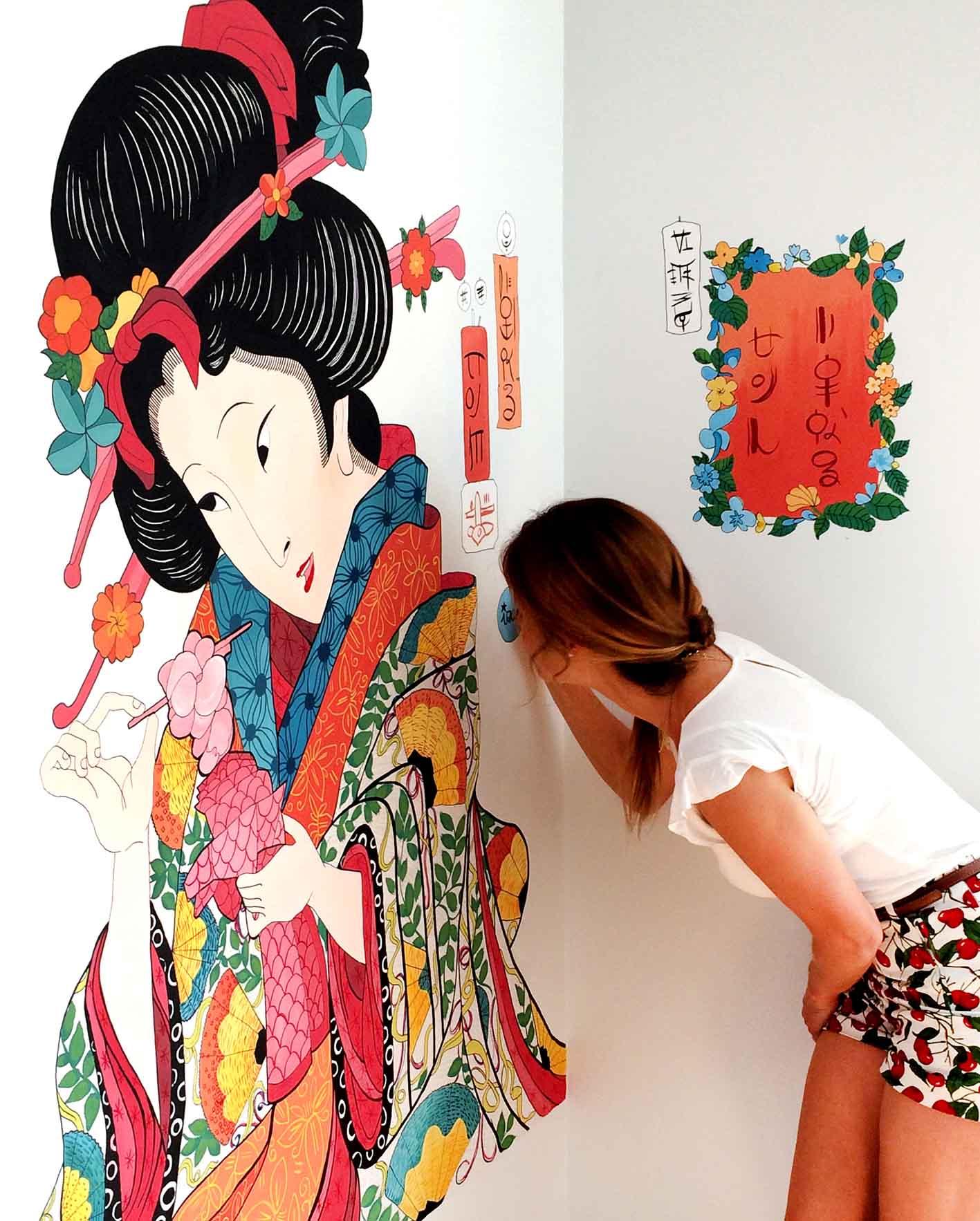 mural izas geisha 4