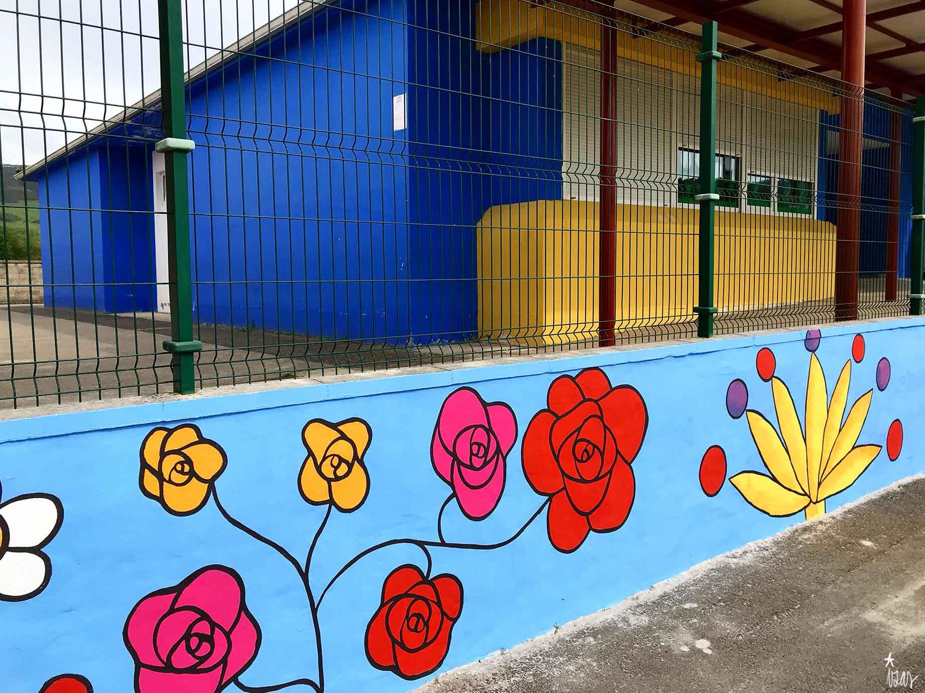 mural izas gerardo diego exterior 1