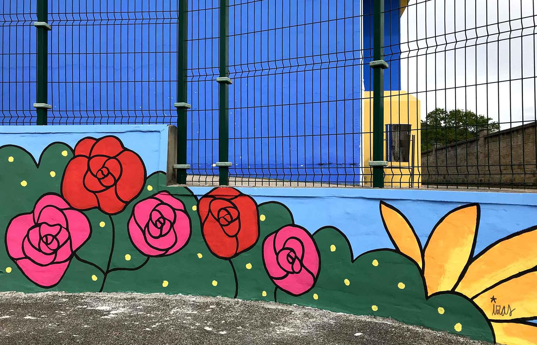 mural izas gerardo diego exterior 2