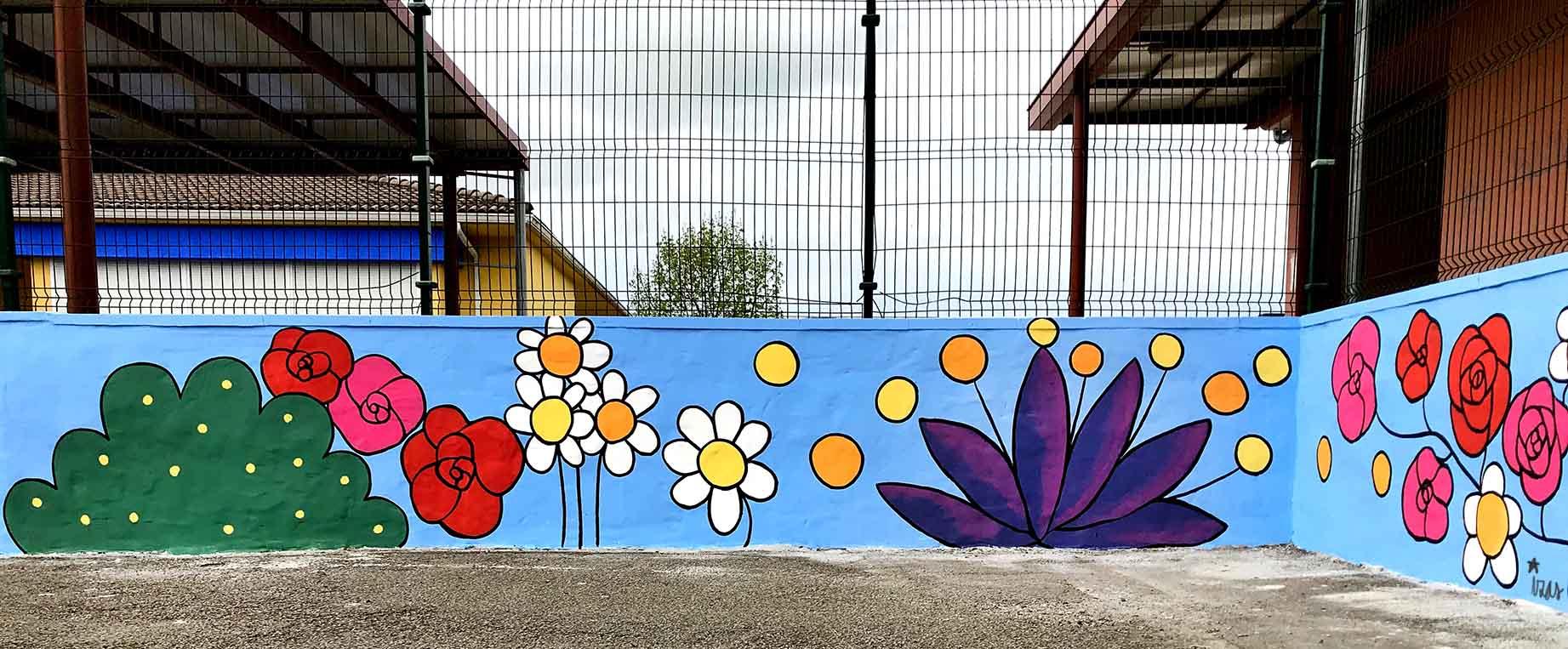 mural izas gerardo diego exterior 6