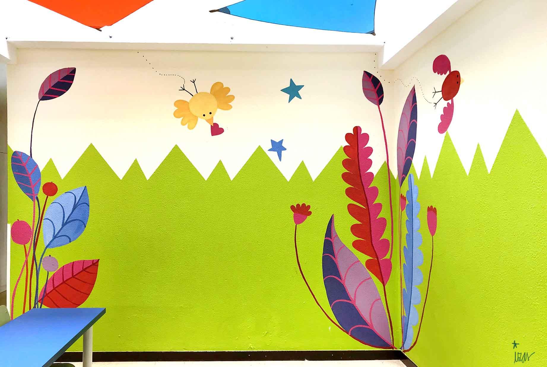 mural izas gerardo diego interior 1