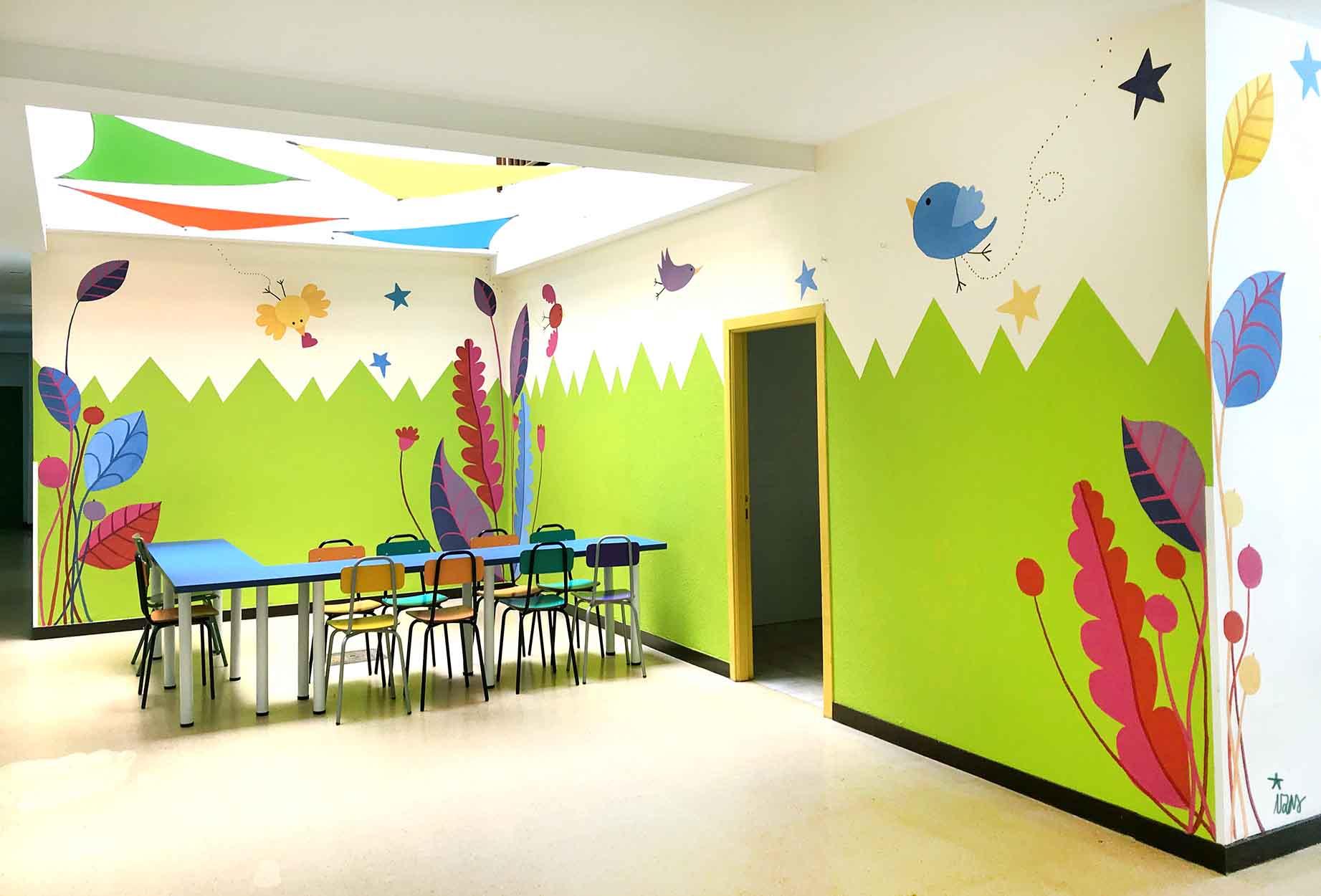 mural izas gerardo diego interior 2