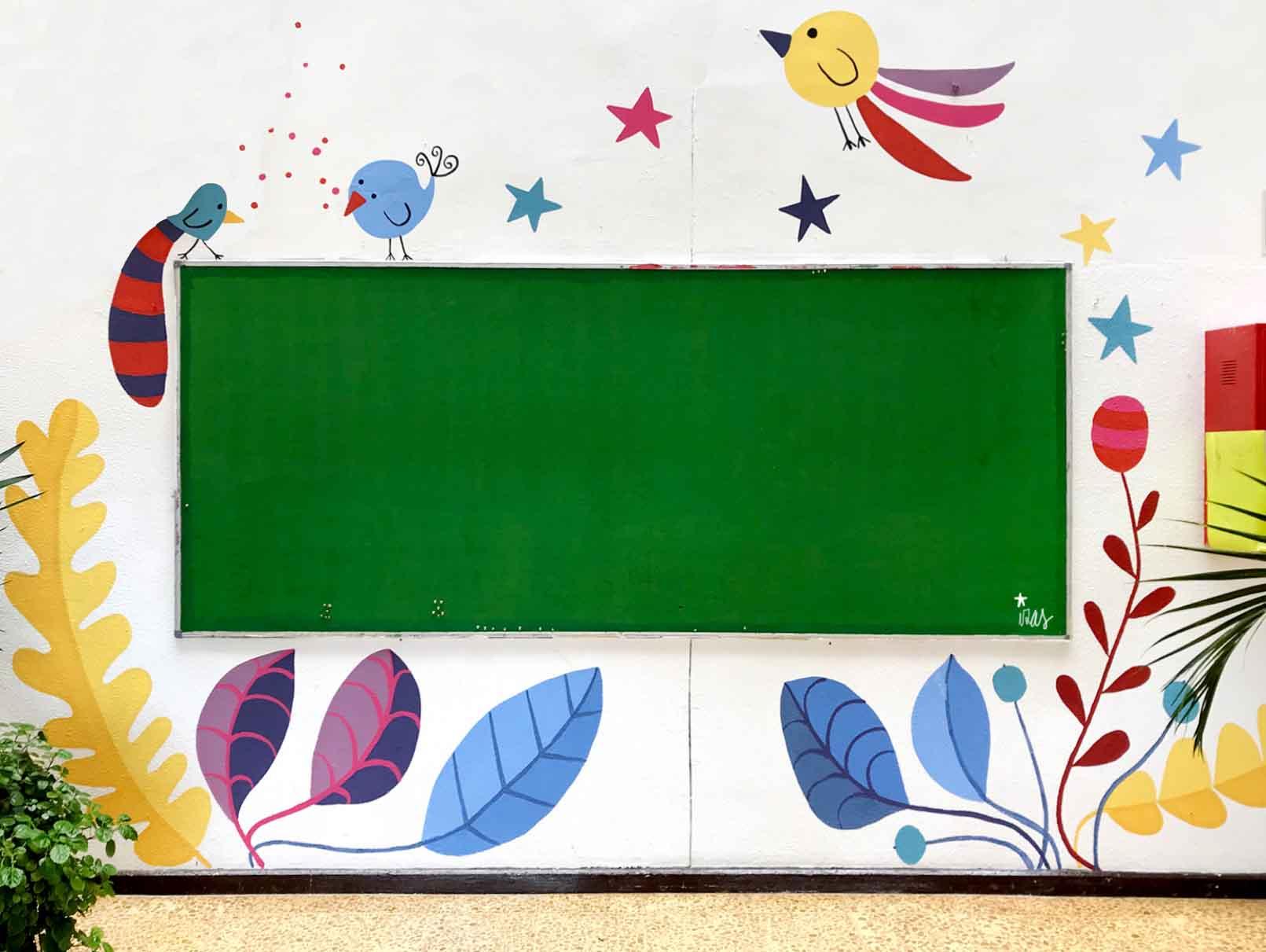 mural izas gerardo diego interior 3