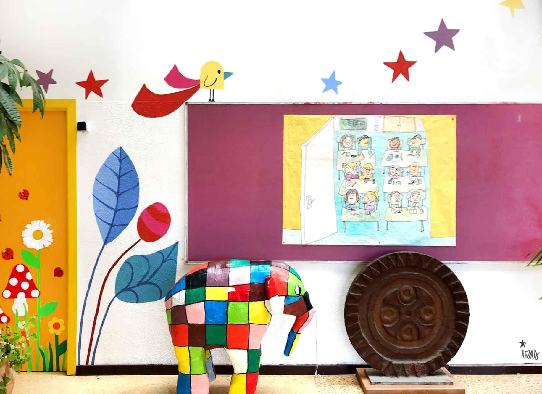 mural izas gerardo diego interior 4