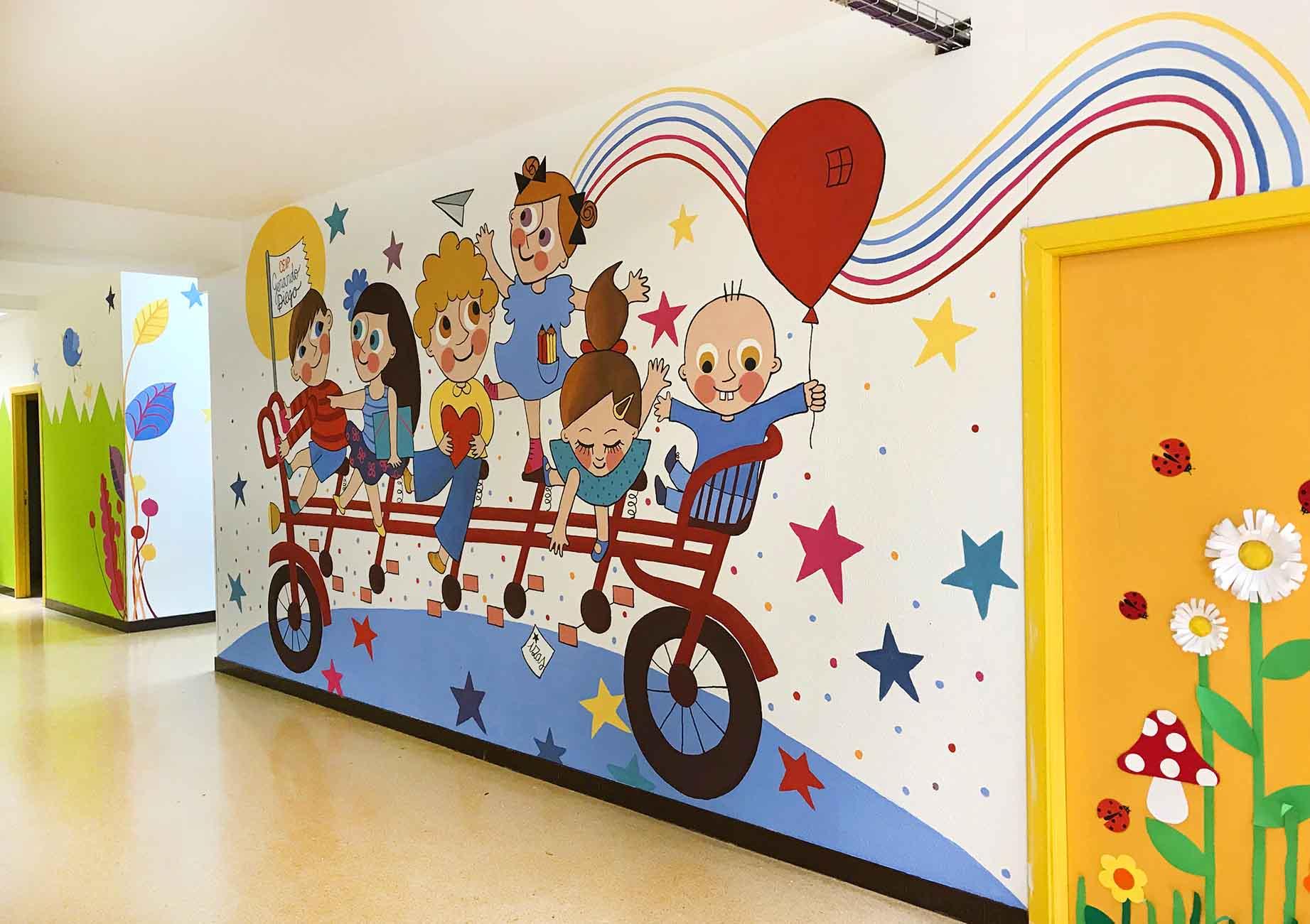 mural izas gerardo diego interior 5