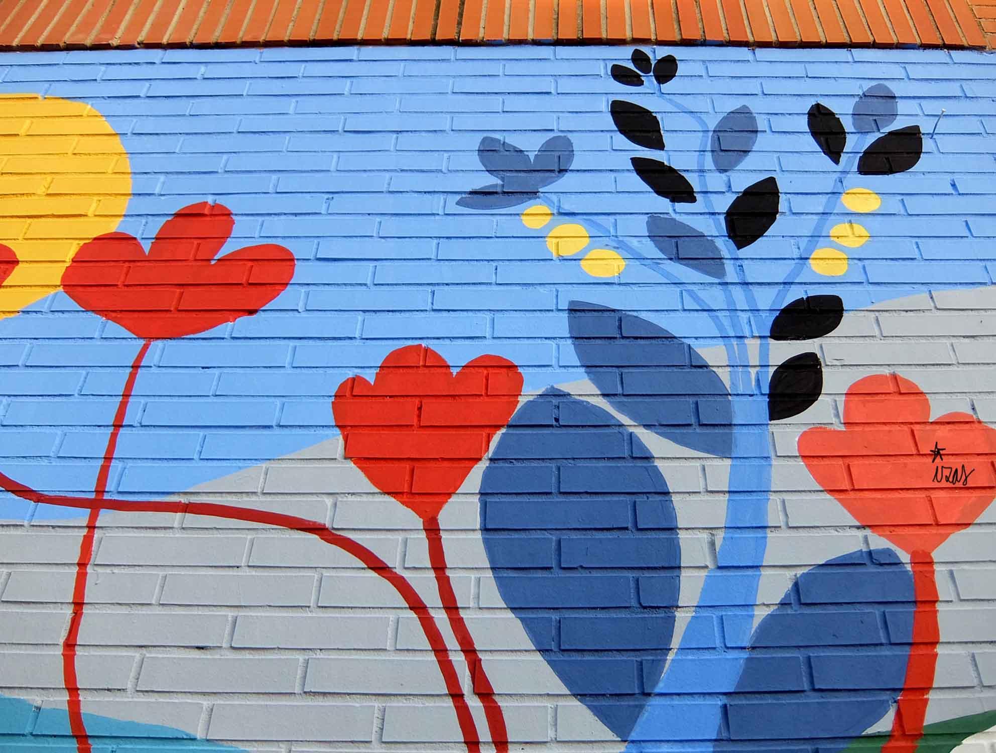 mural izas pinar prados infantil 5