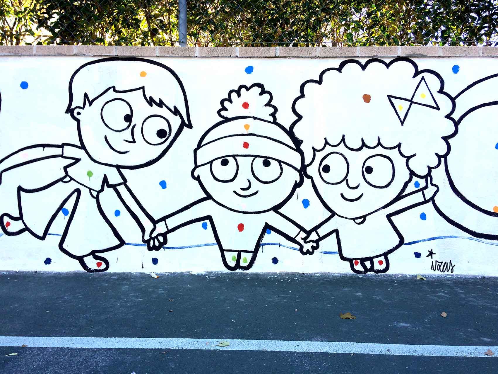 mural izas príncipe de asturias 1