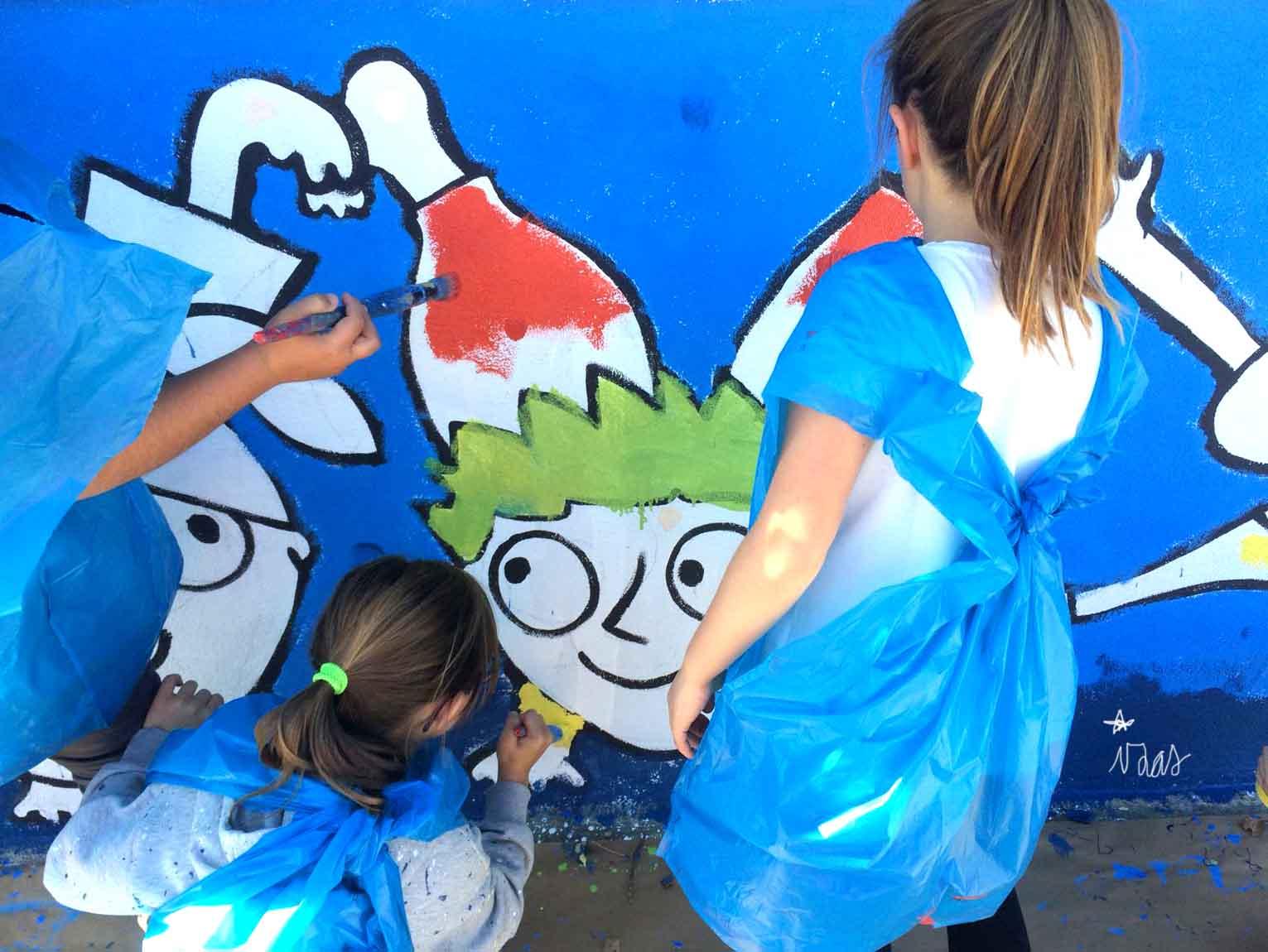 mural izas príncipe de asturias 3