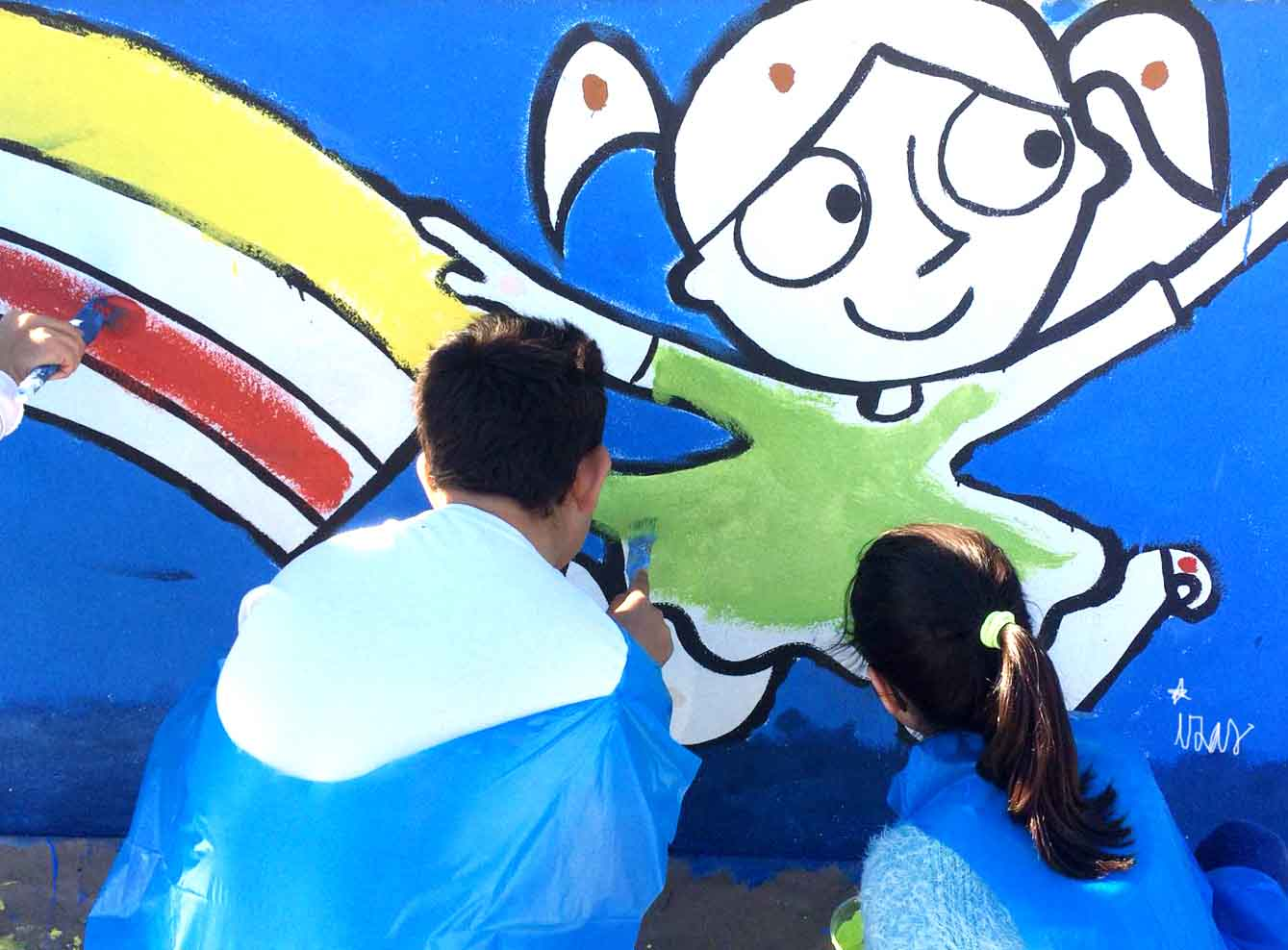 mural izas príncipe de asturias 4