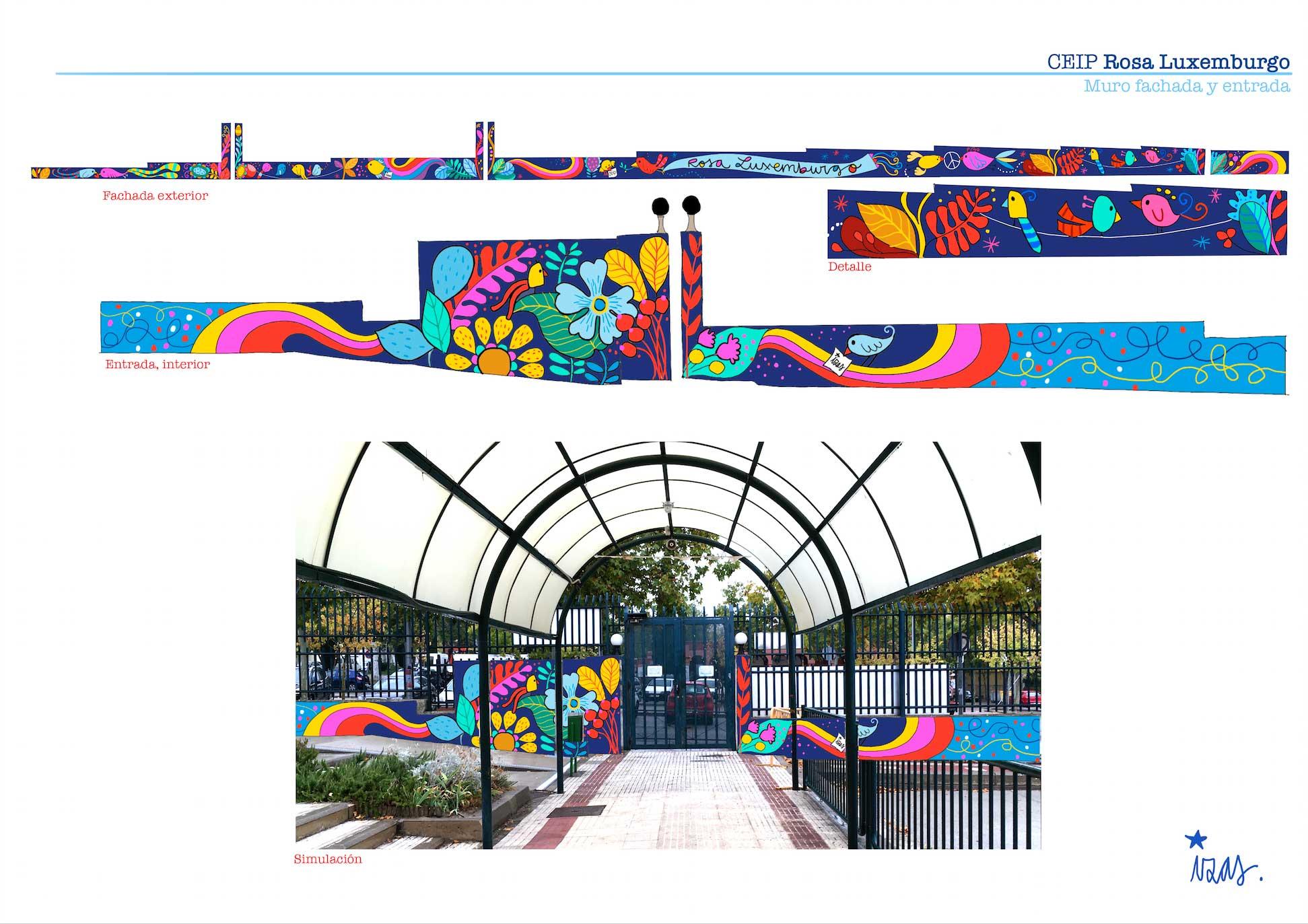 mural-izas-rosa-luxemburgo-entrada-proyecto