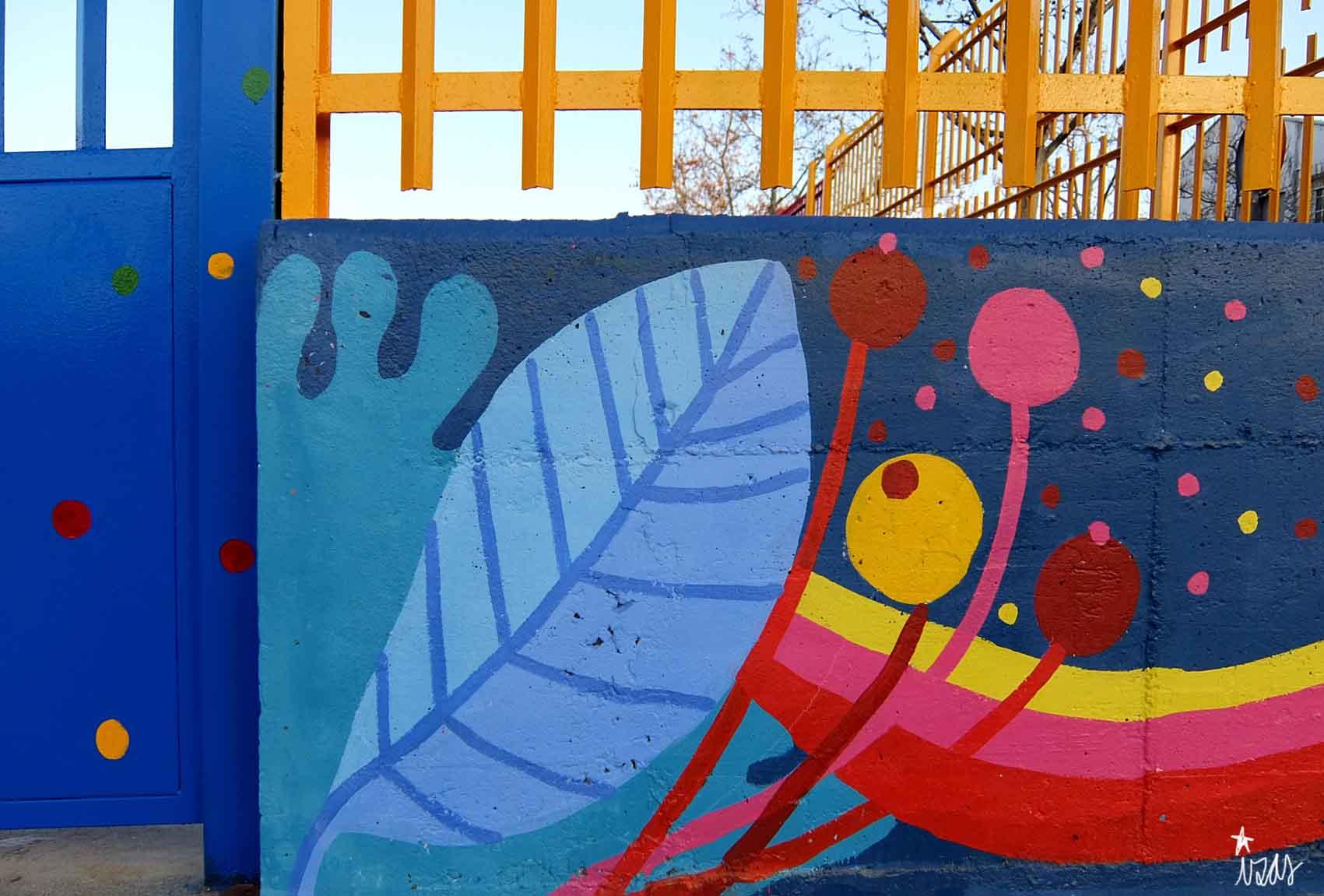 mural izas rosa luxemburgo exterior 7