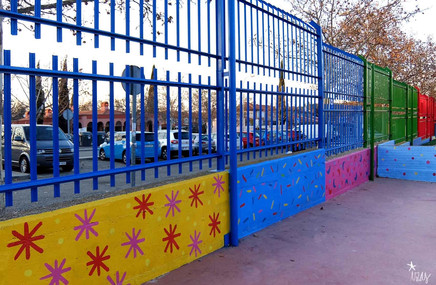 mural izas rosa luxemburgo infantil 3