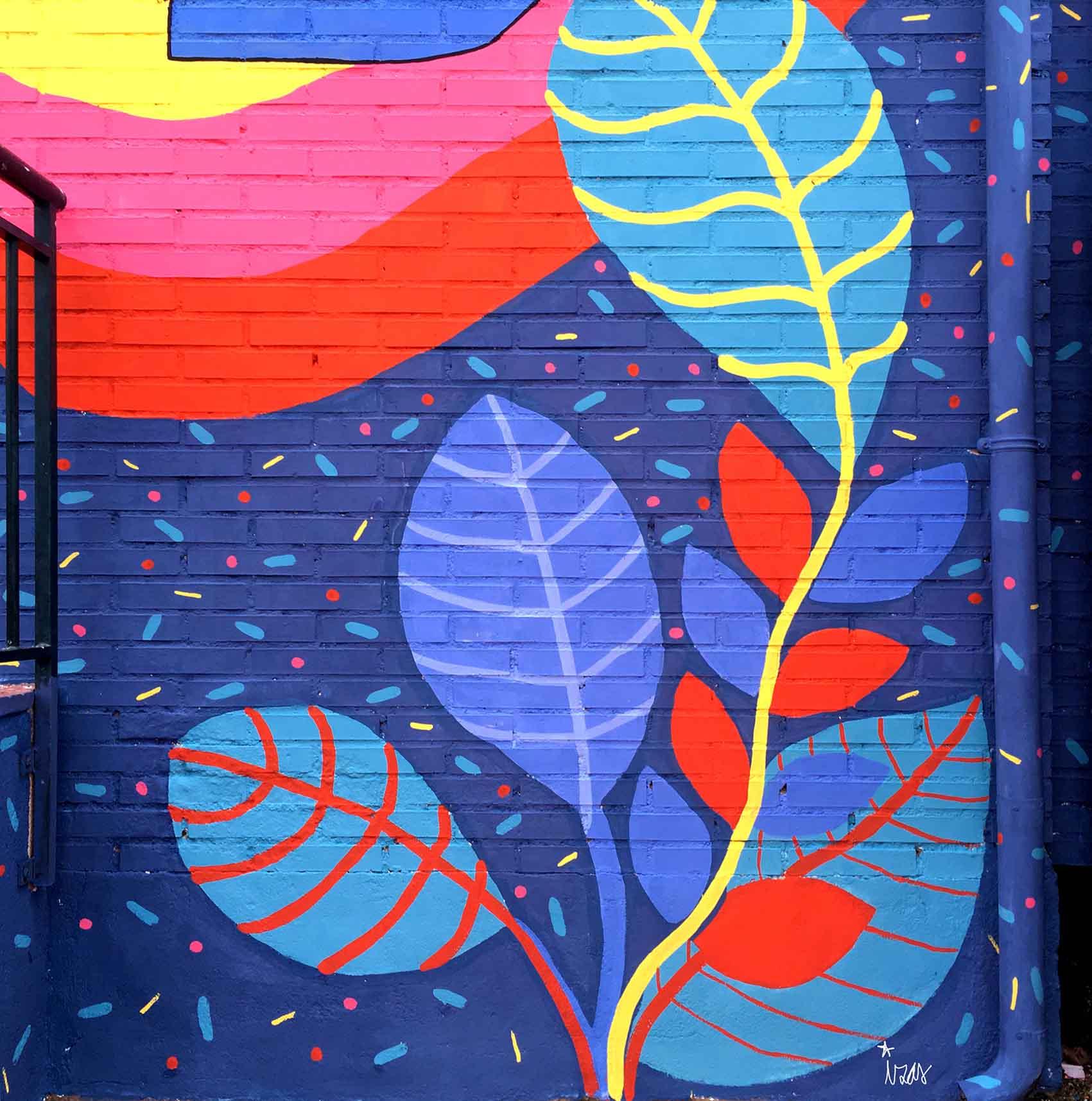 mural izas rosa luxemburgo primaria 4