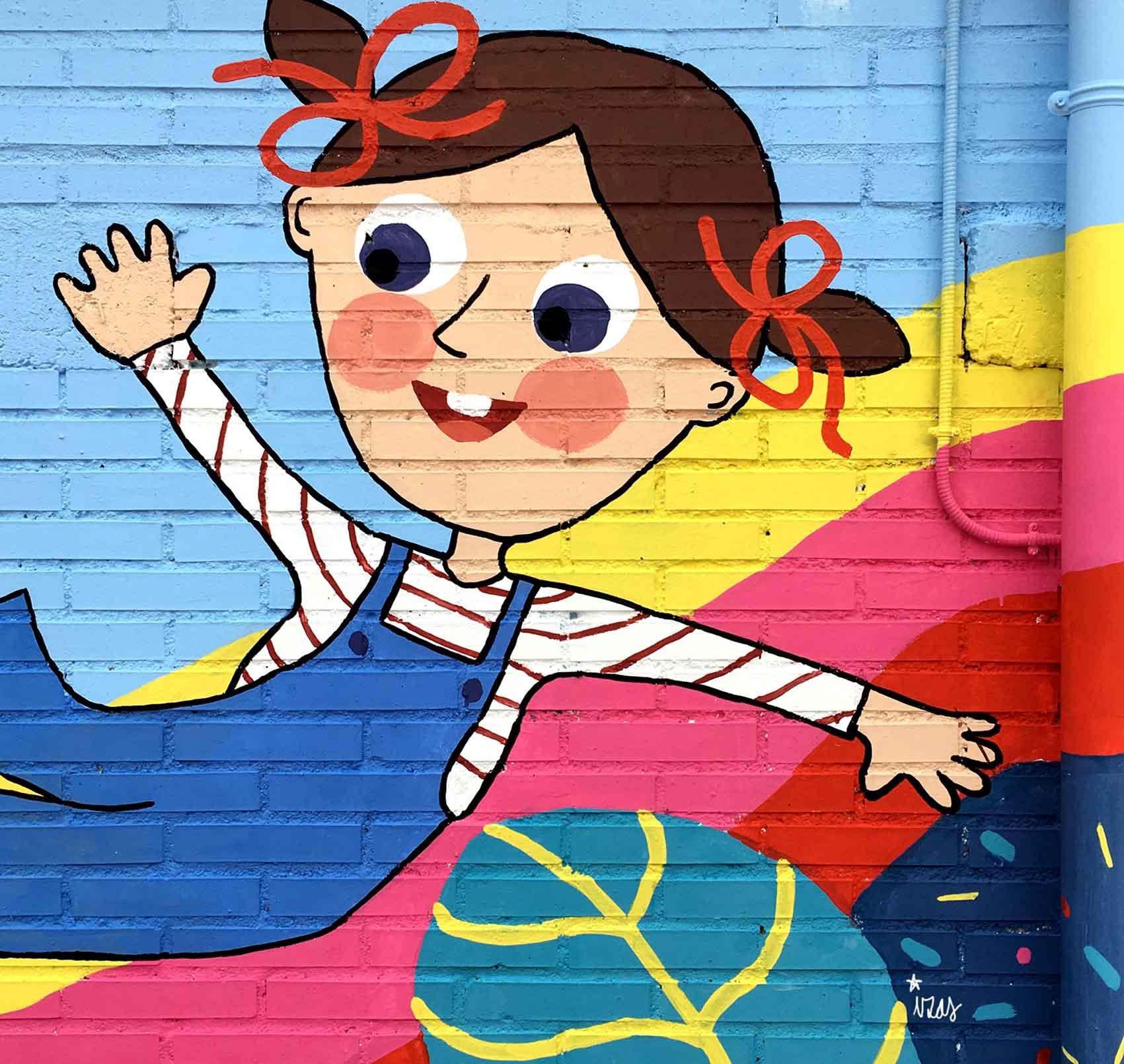 mural izas rosa luxemburgo primaria 6