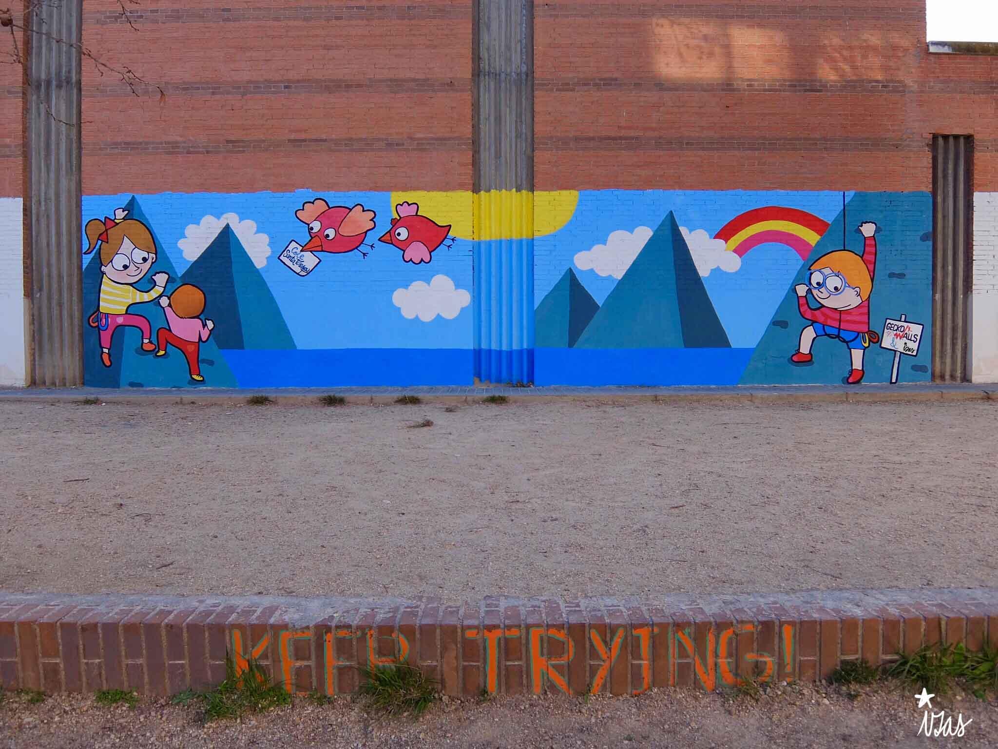 mural izas santa teresa 1