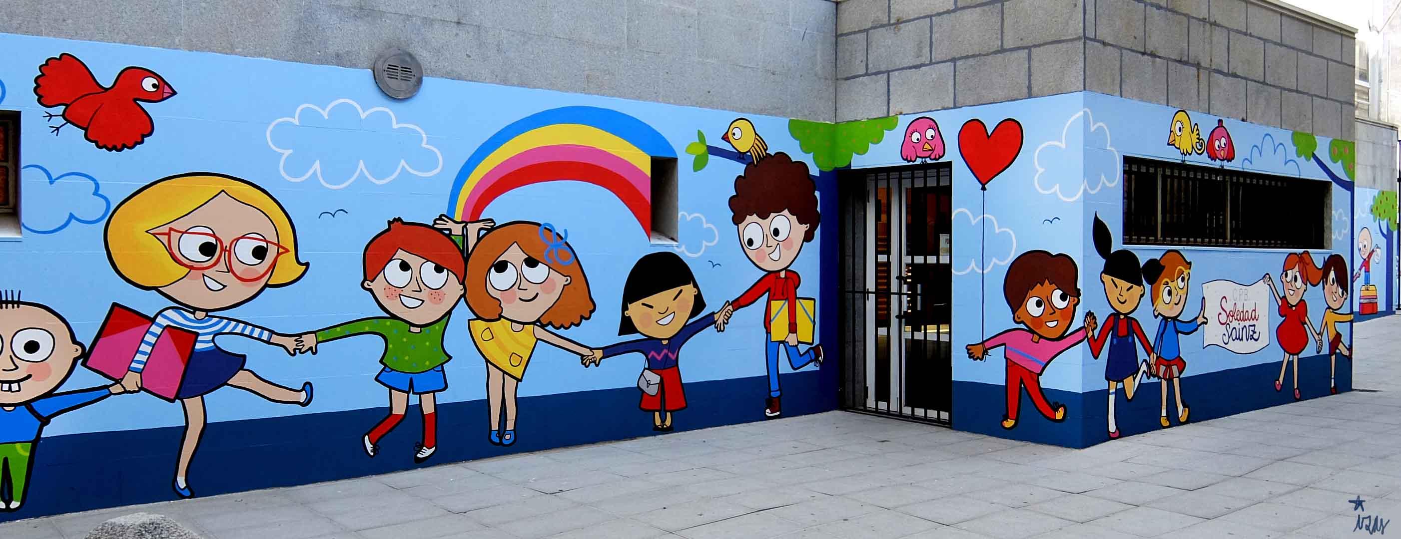 mural izas soledad sainz entrada 3