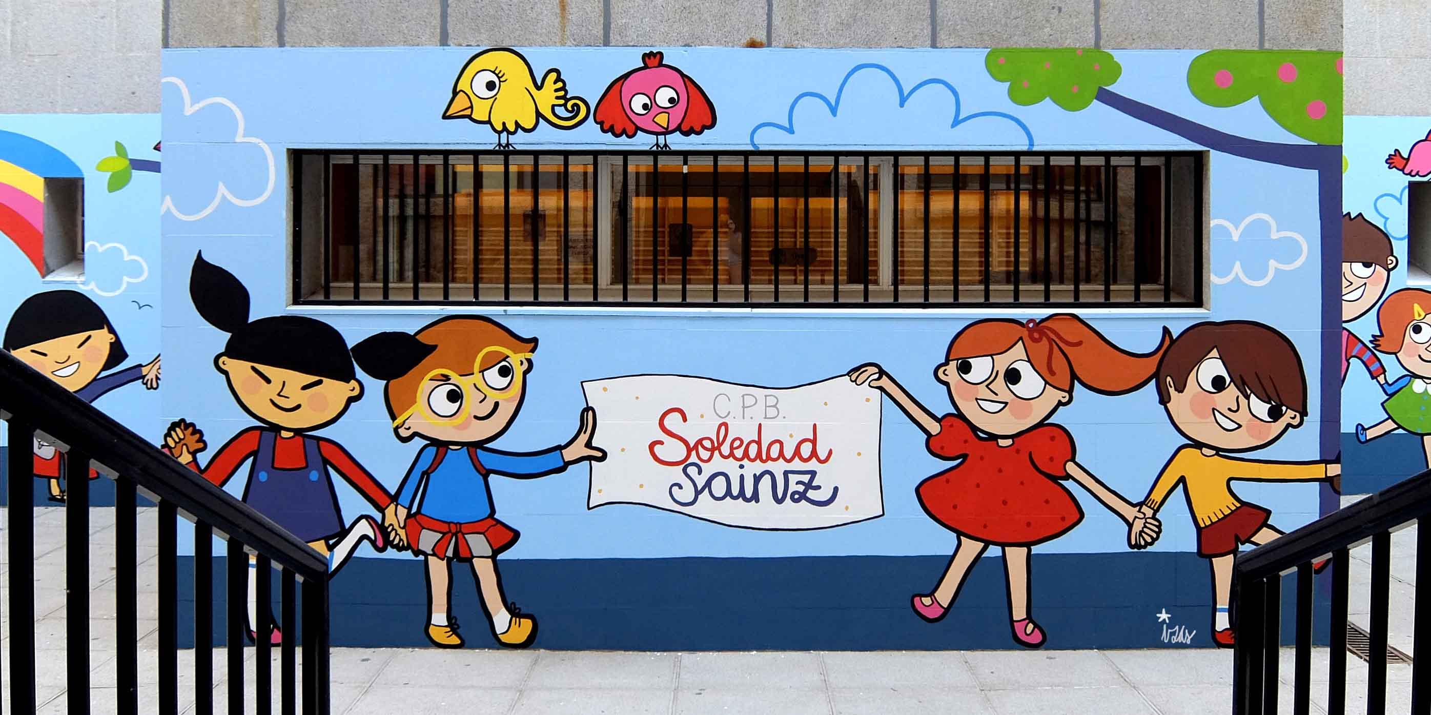 mural izas soledad sainz entrada 4