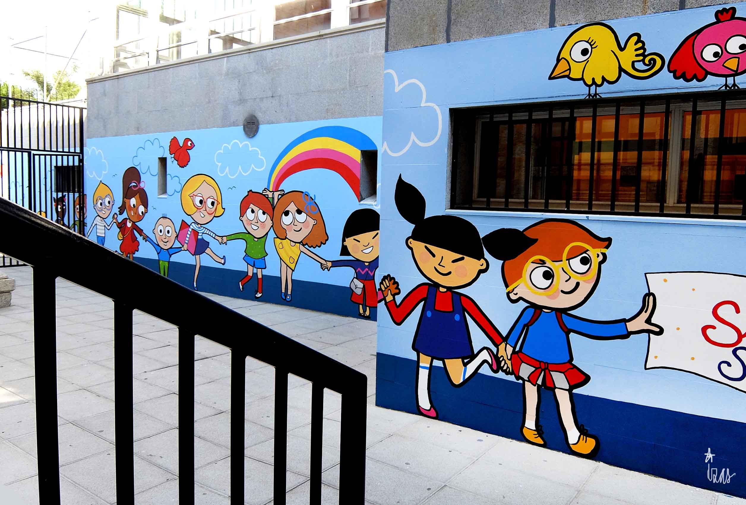 mural izas soledad sainz entrada 5