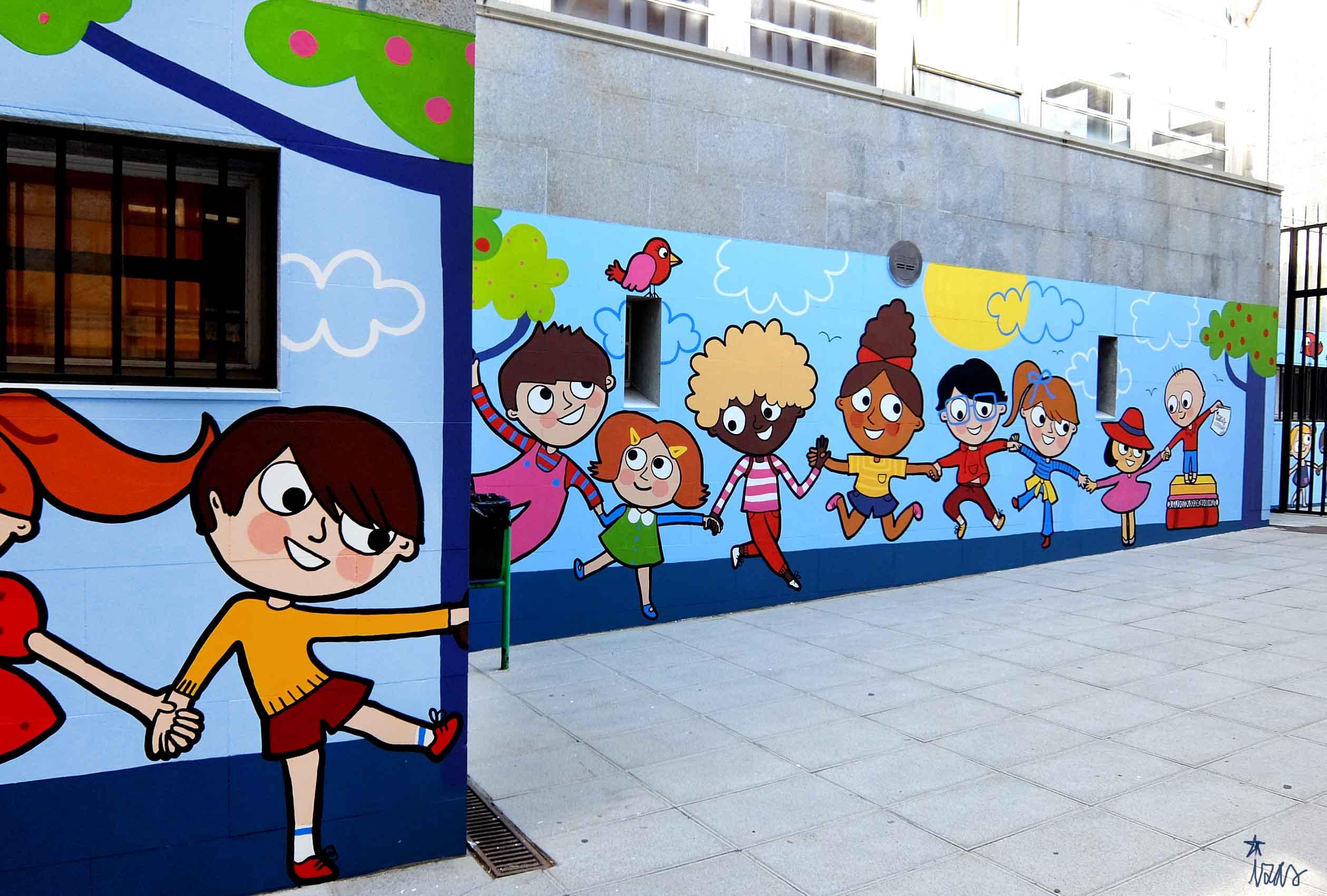 mural izas soledad sainz entrada 6