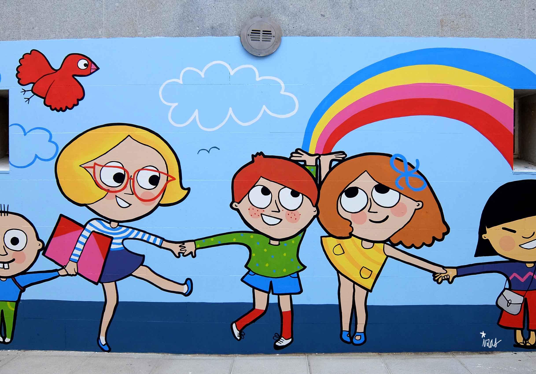 mural izas soledad sainz entrada 9