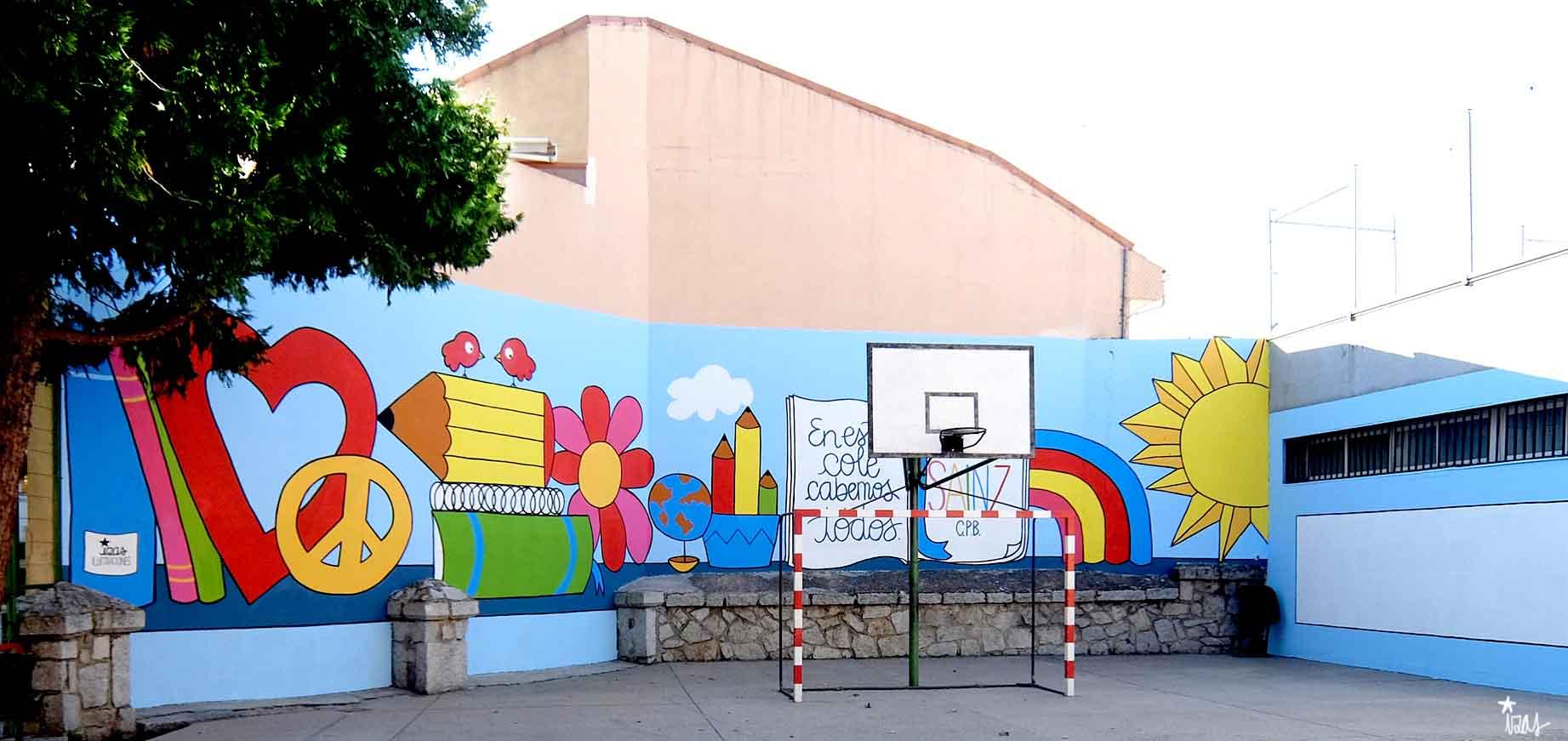 mural izas soledad sainz exterior 1