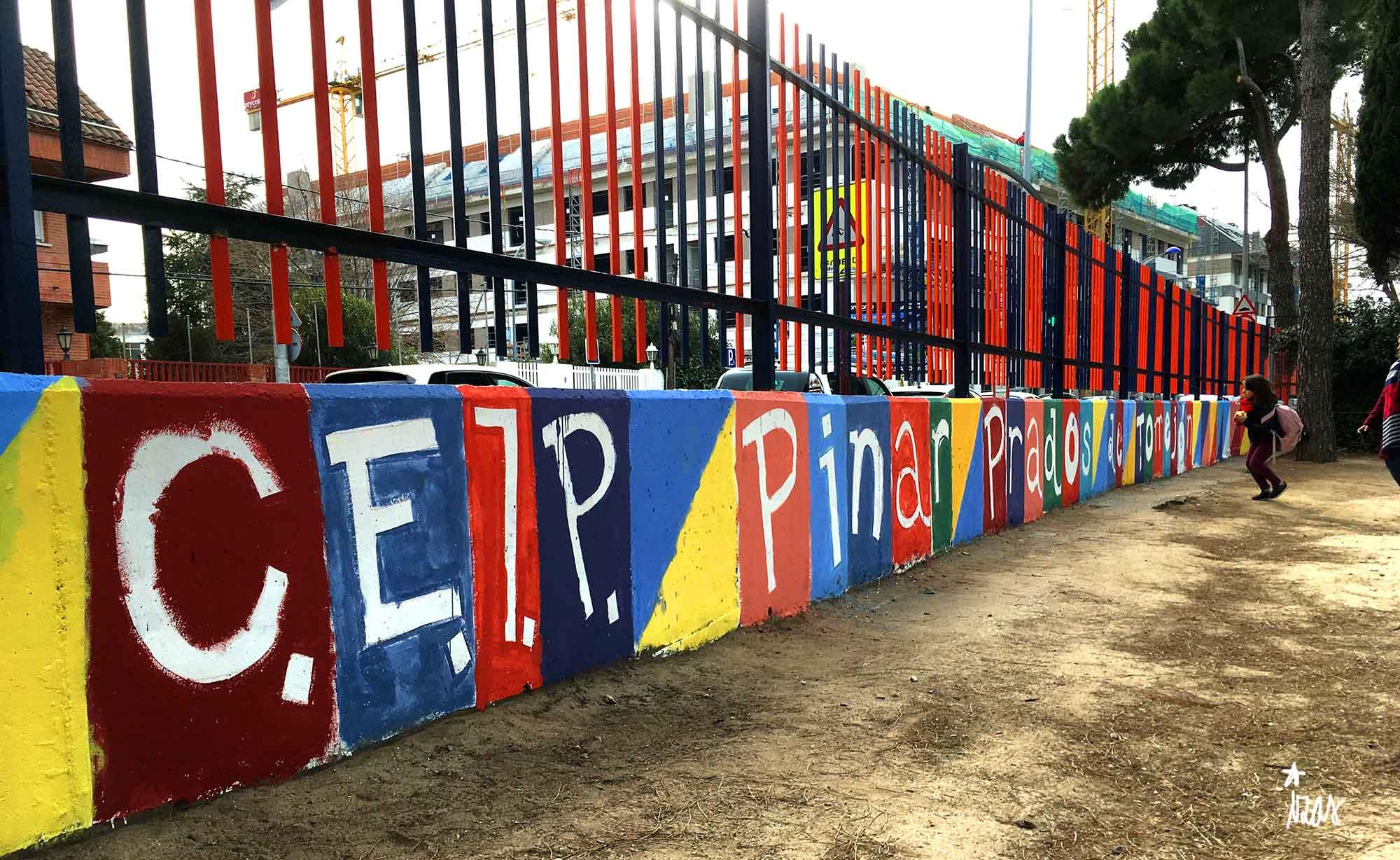 mural izas taller pinar prados 2