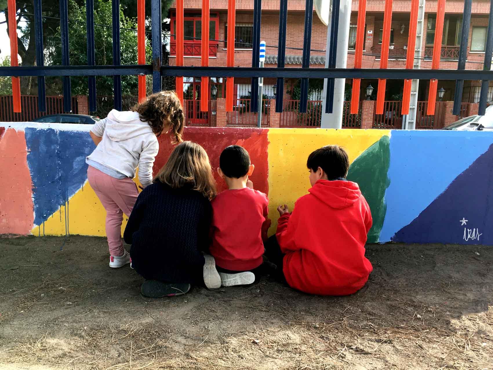 mural izas taller pinar prados 3
